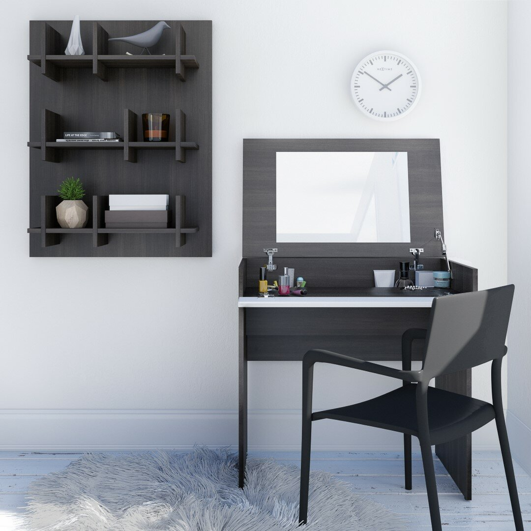 Latitude Run Gena Vanity with Mirror  Latitude Run Gena Vanity with Mirror  Reviews Wayfair. Vanity Mirror Touch Pro