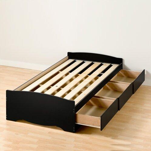 Correll Storage Platform Bed