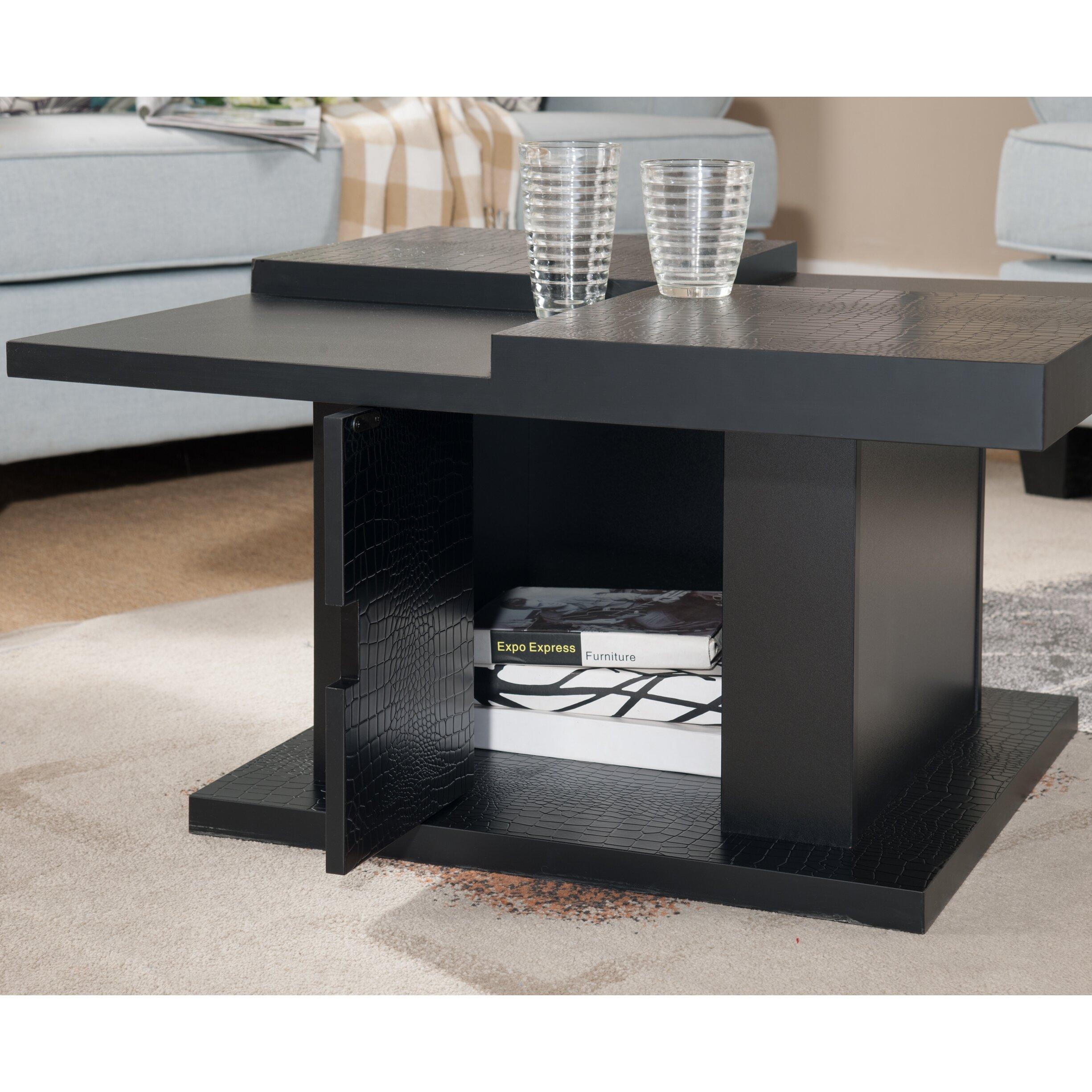 Square Coffee Table By Latitude Run: Latitude Run Myron Coffee Table