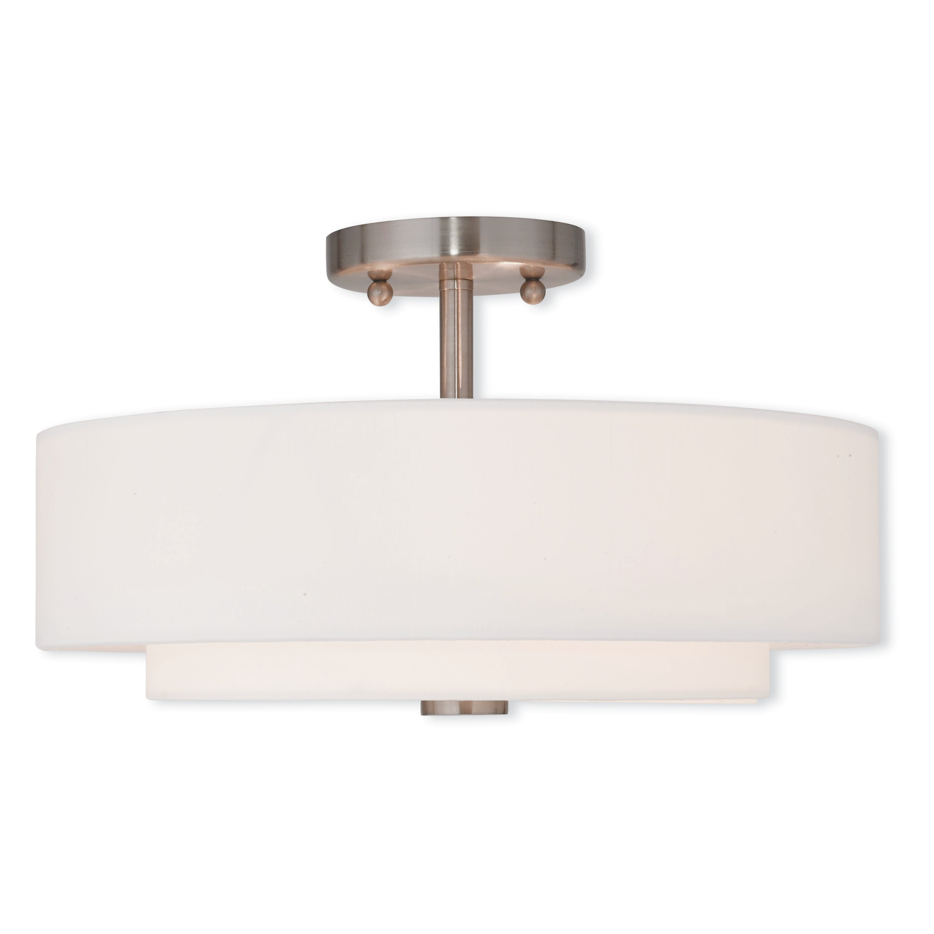 Kitchen Semi Flush Lighting Modern Fabric Flush Mount Lighting Allmodern