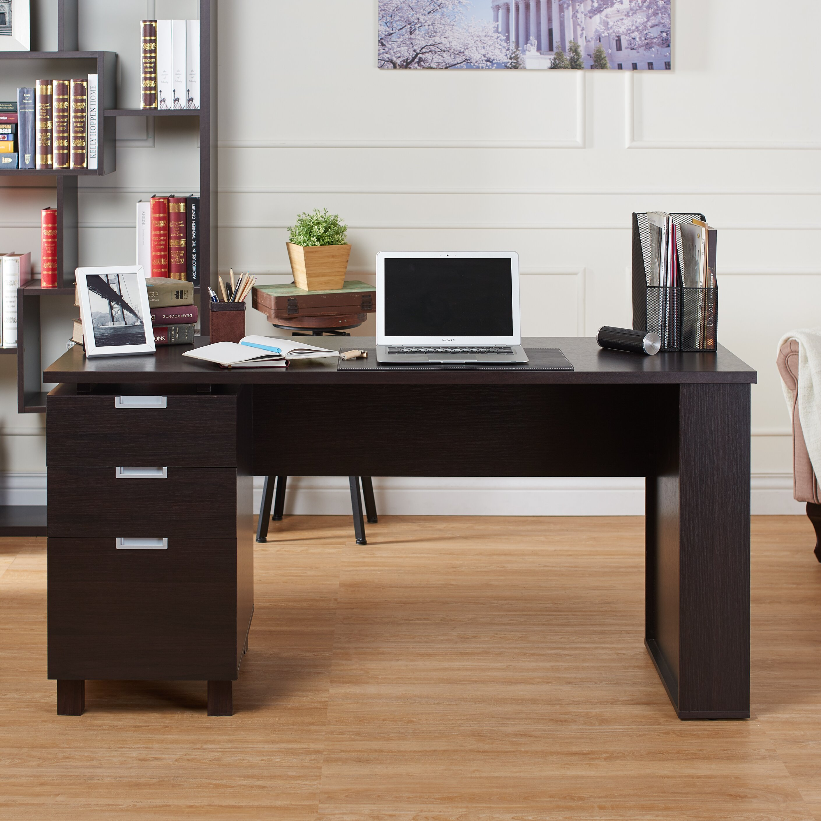 Computer Desk Cabinet Latitude Run Maxwell File Cabinet Computer Desk Reviews Wayfair