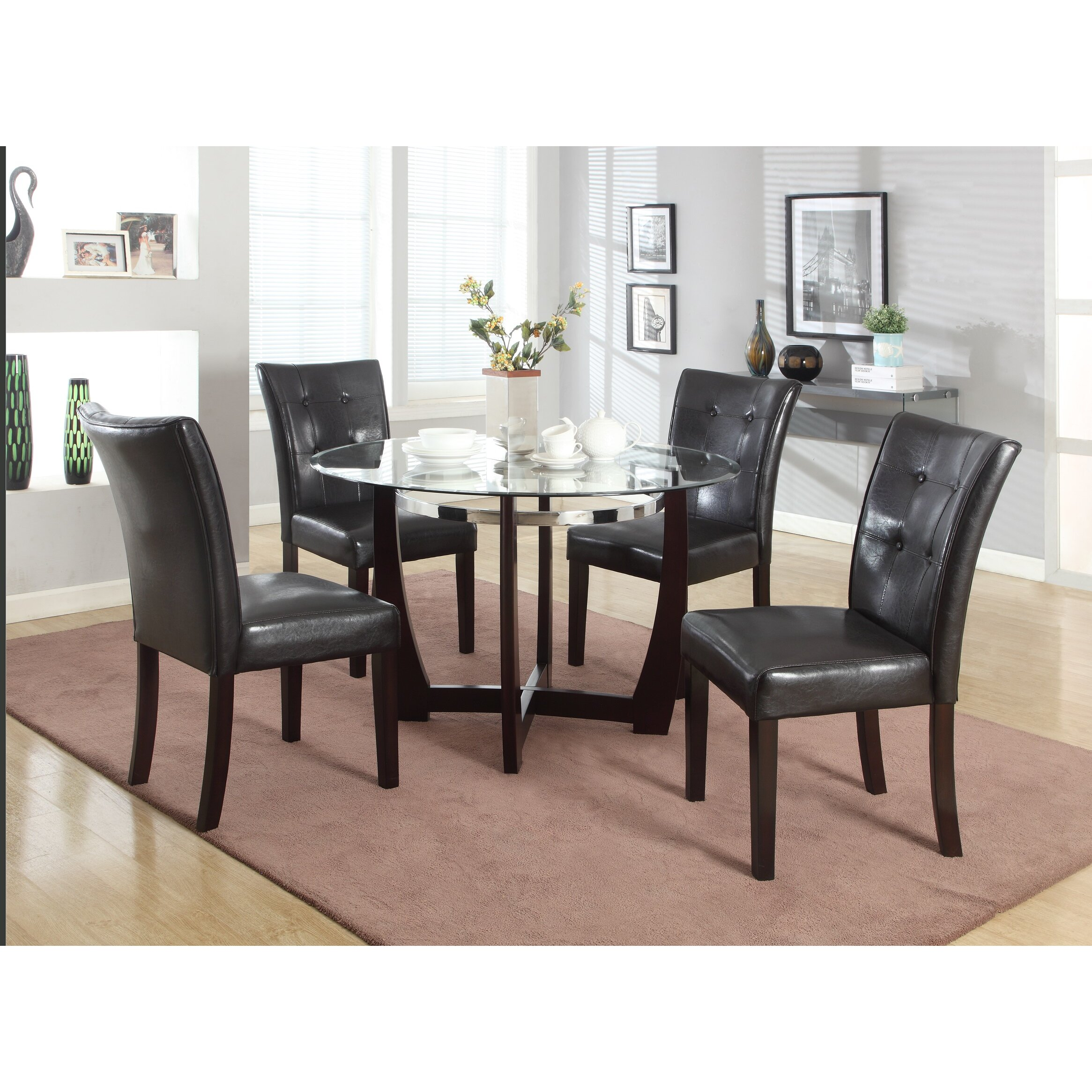 Ro round dining room sets for sale - 5 Piece Dining Set