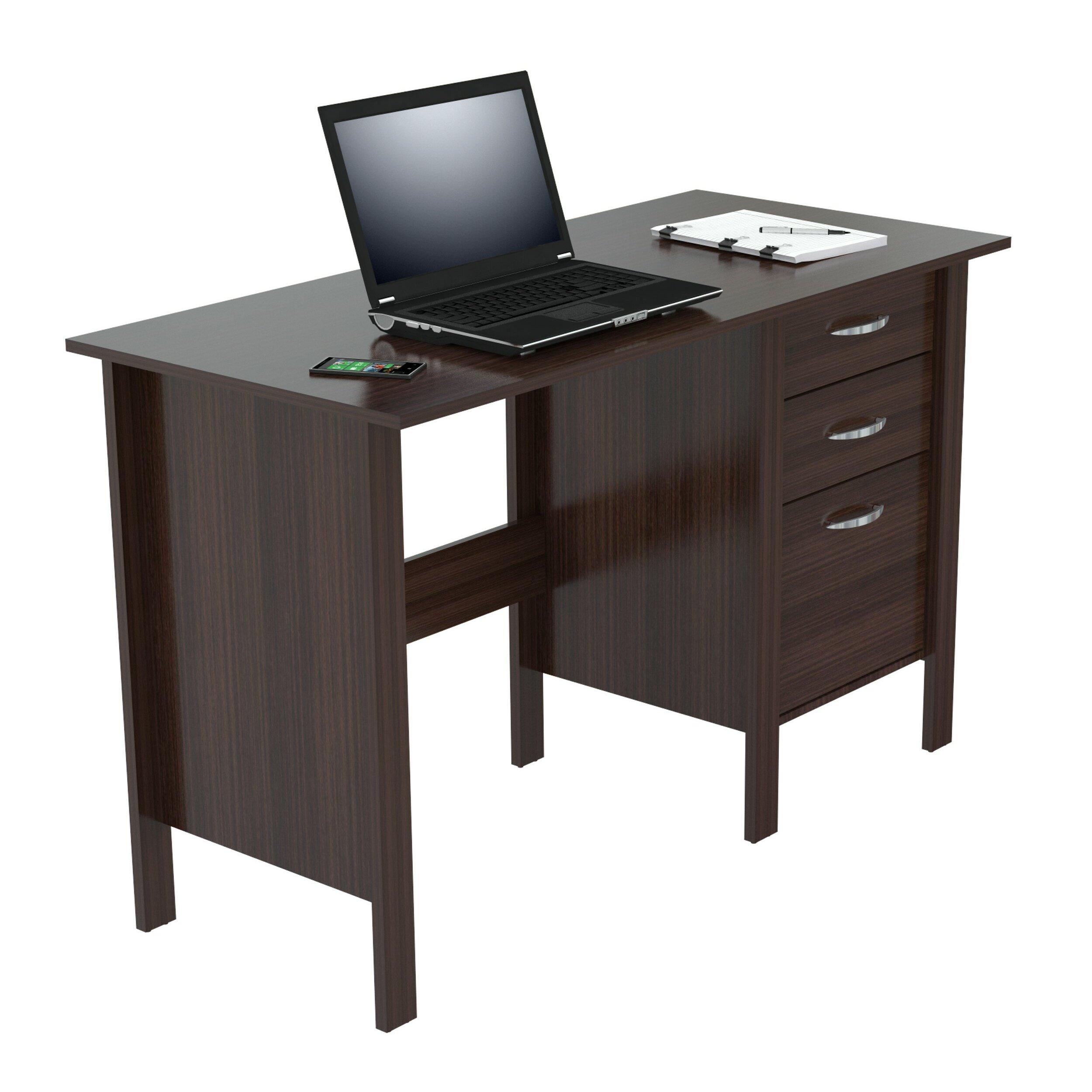 Latitude Run Norwich 3 Drawers Computer Desk Reviews