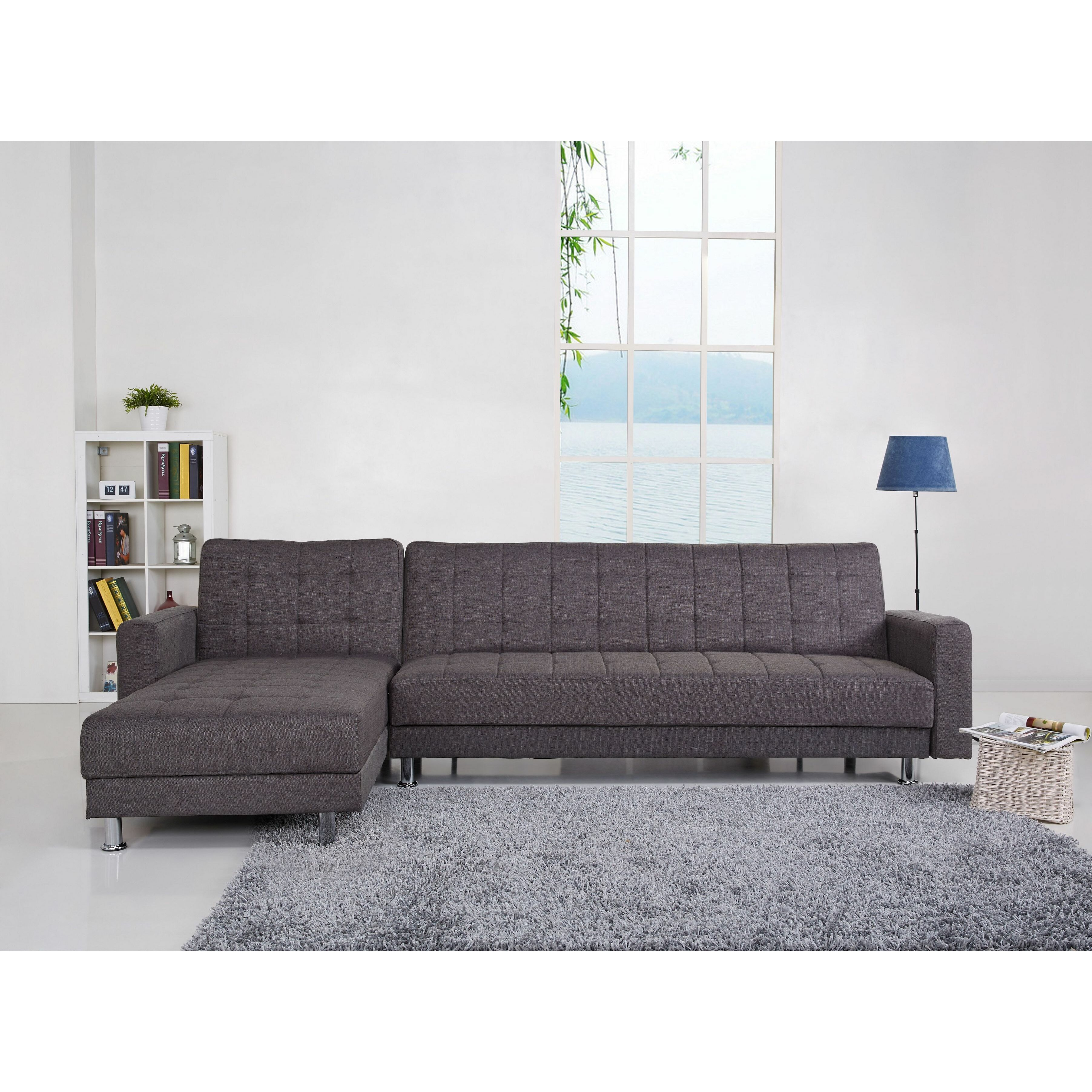 Mercury Row Shirley Modular Corner Sofa Bed & Reviews