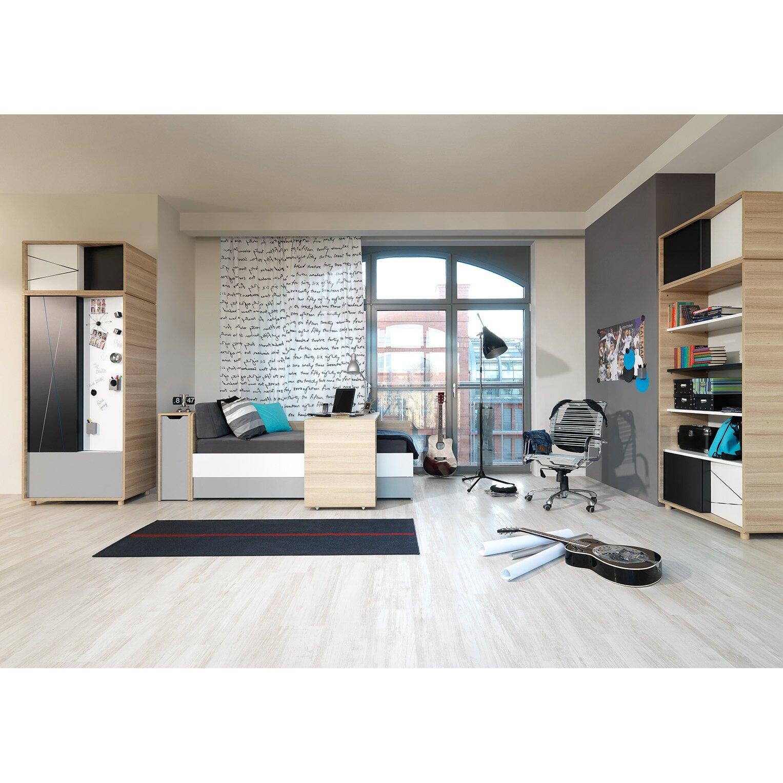 urban facettes schreibtisch evolve mit rollen. Black Bedroom Furniture Sets. Home Design Ideas