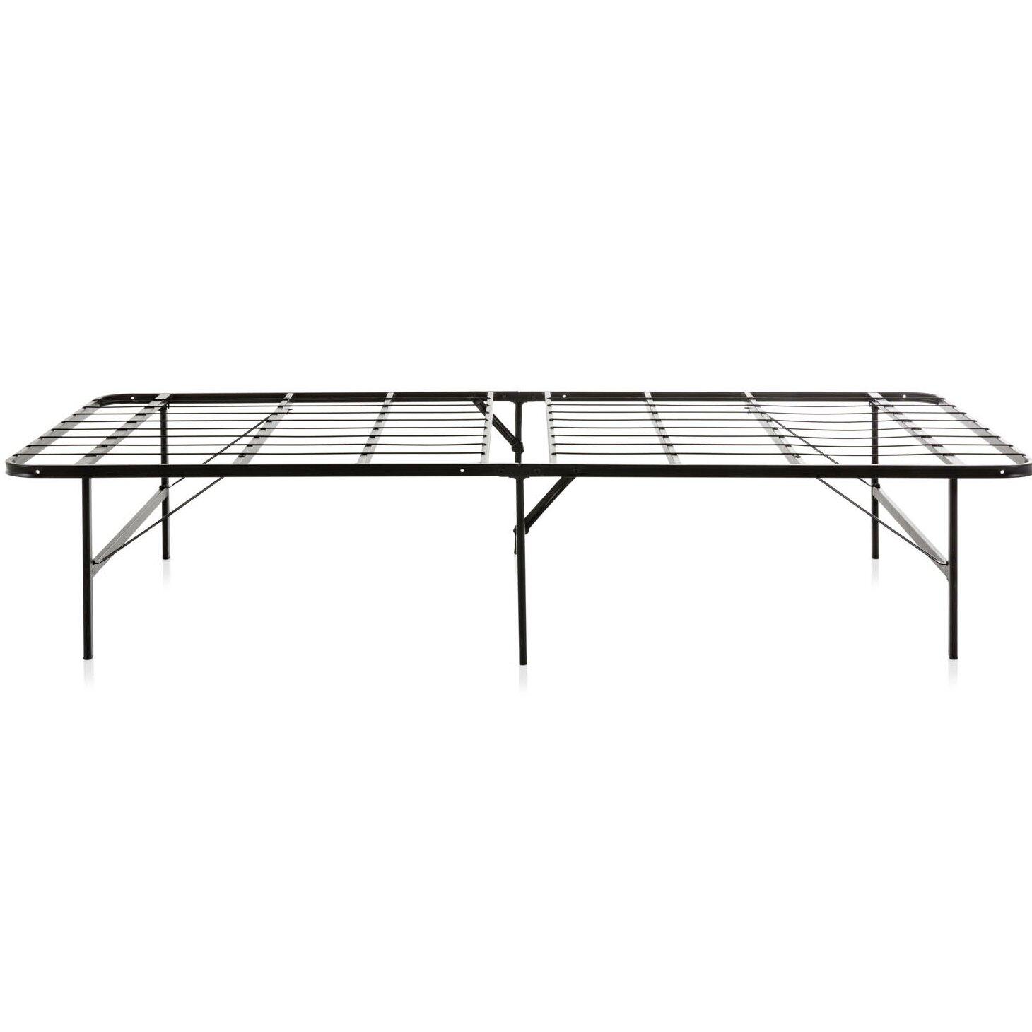 weekender foldable metal platform bed frame