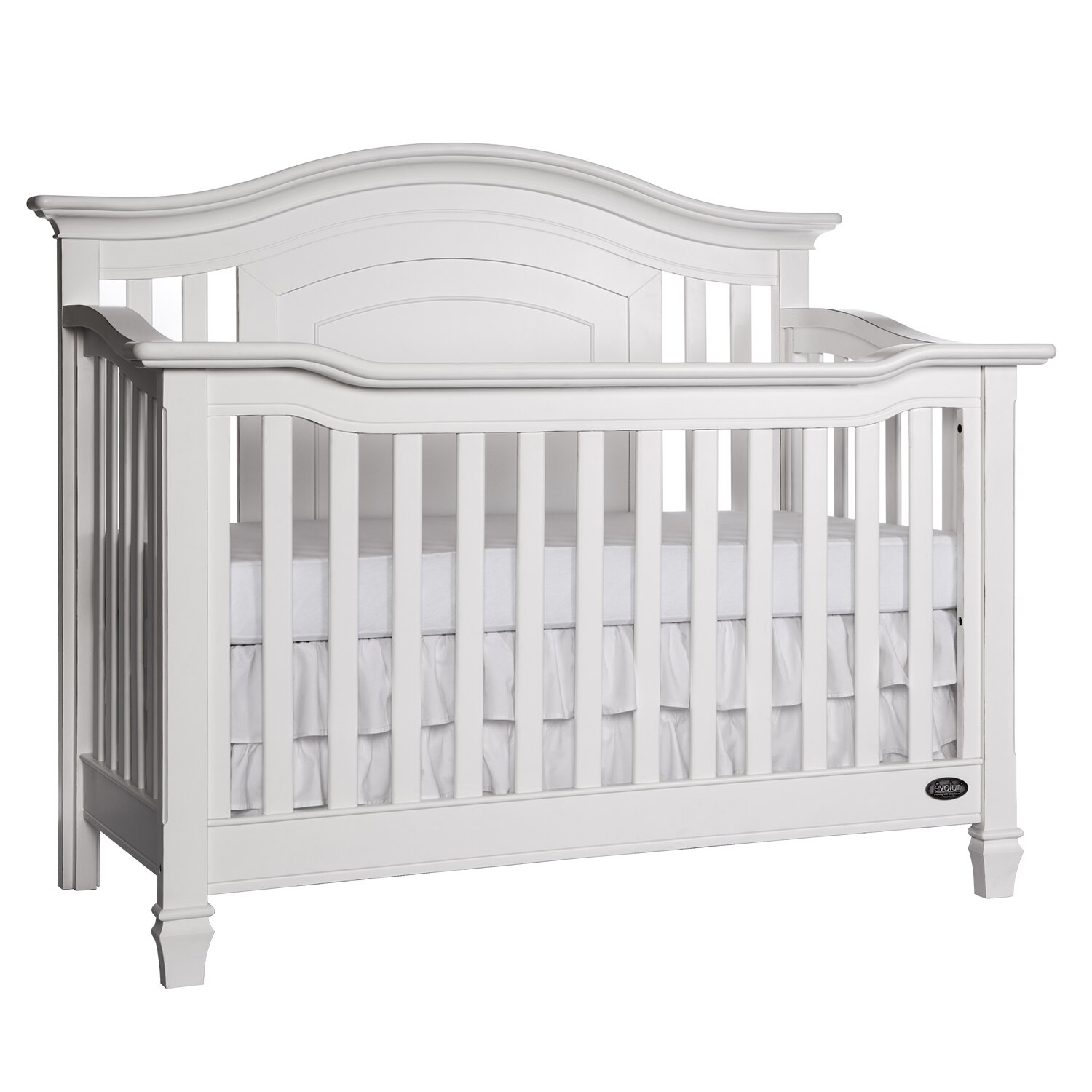 Baby cribs regulations canada - Evolur Fairbanks 5 In 1 Crib