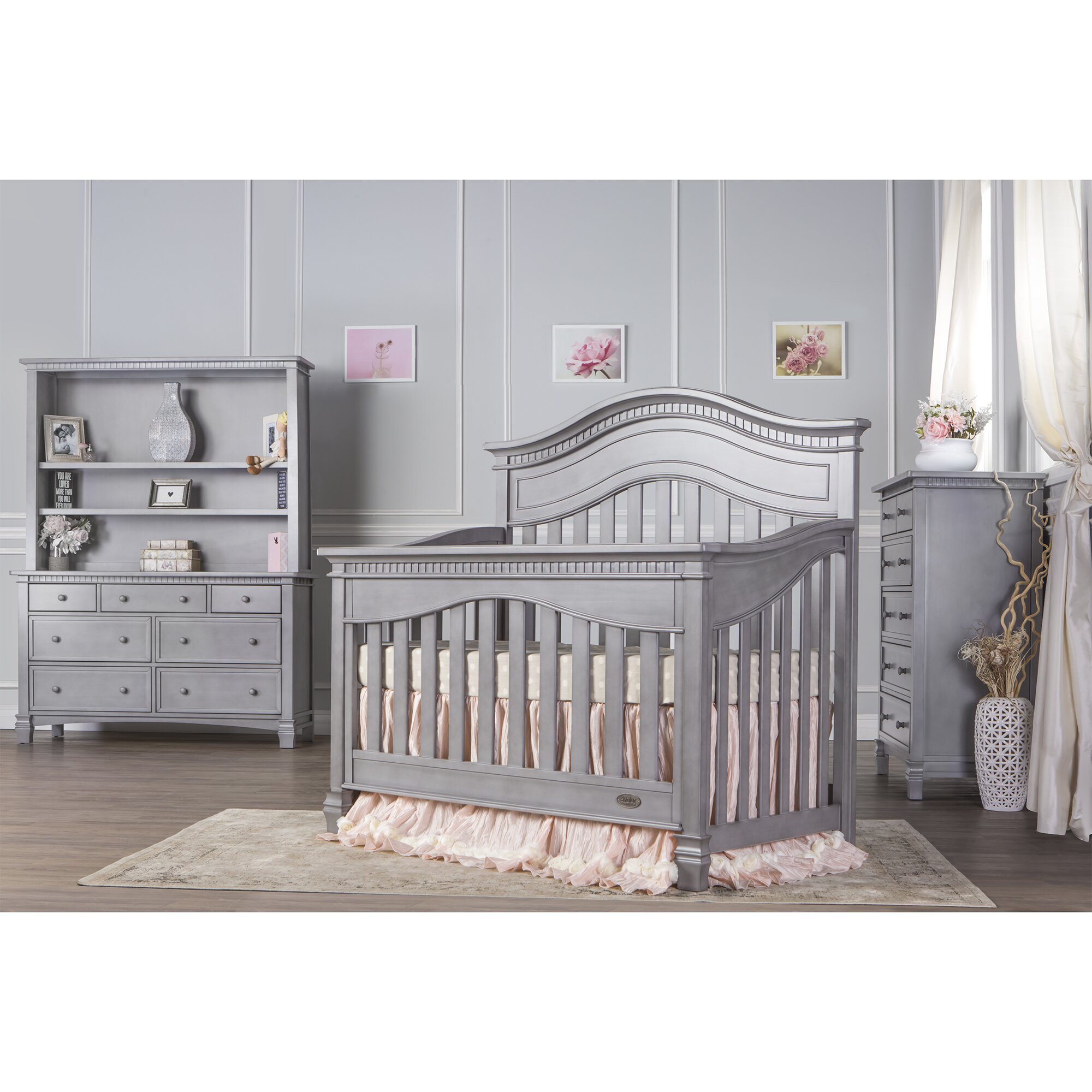 Baby cribs regulations canada - Evolur Cheyenne 5 In 1 Convertible Crib