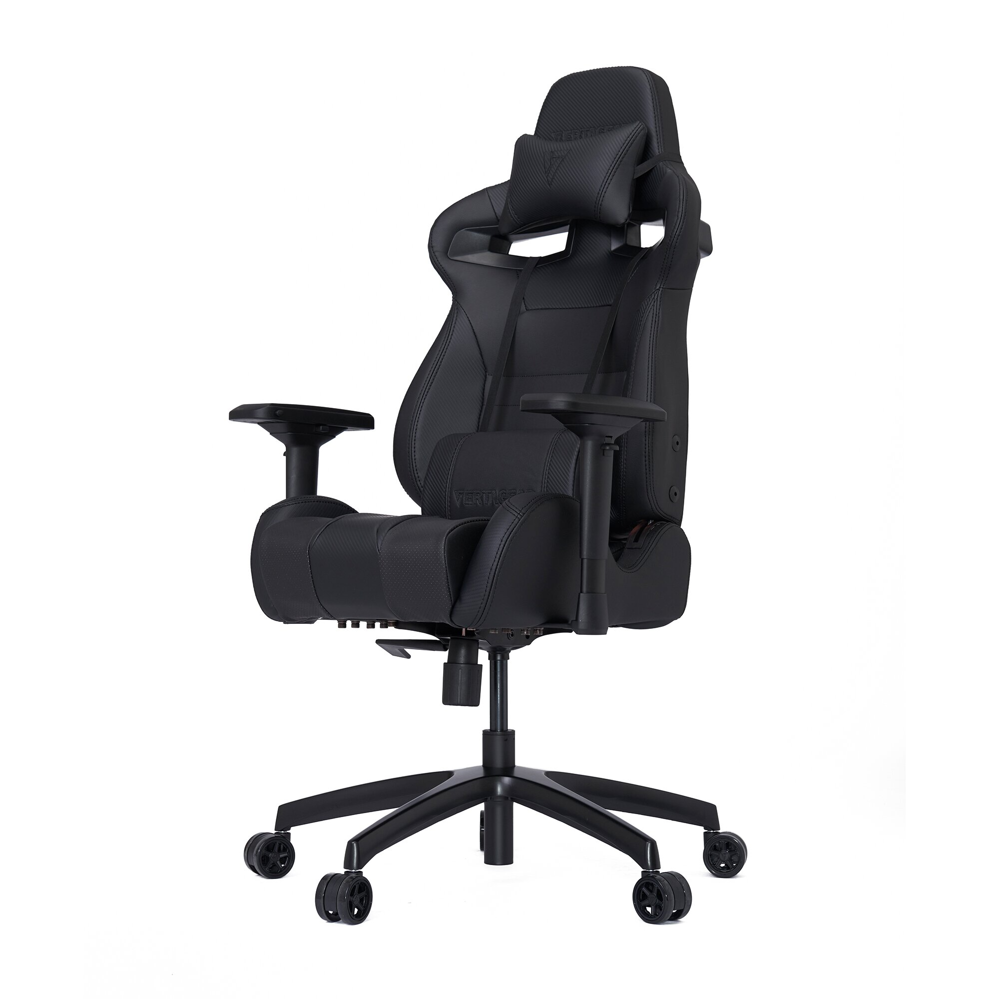 Black and white office chair - Vertagear High Back Gaming Office Chair With Arms