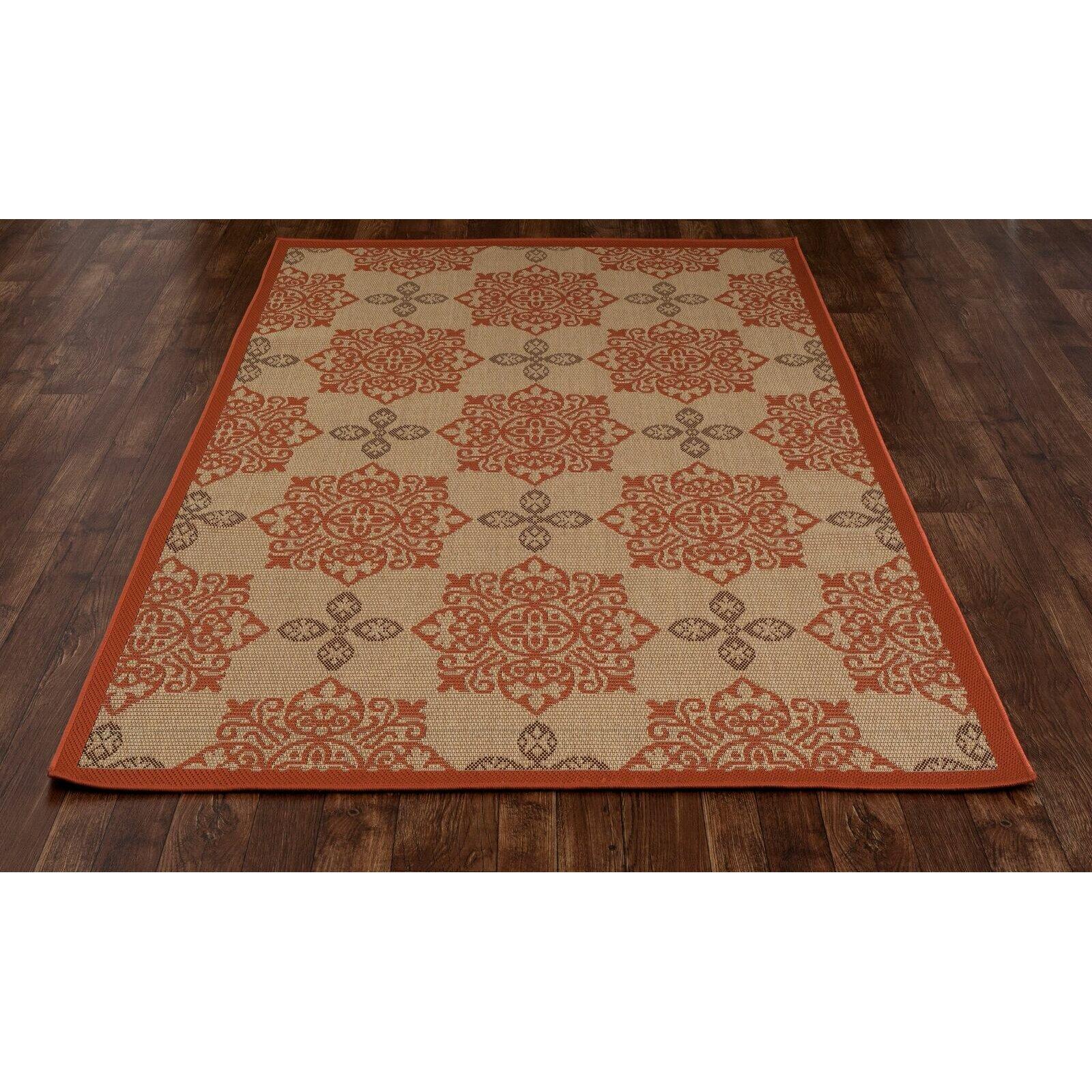 Art Carpet Plymouth Tan Indoor Outdoor Area Rug & Reviews