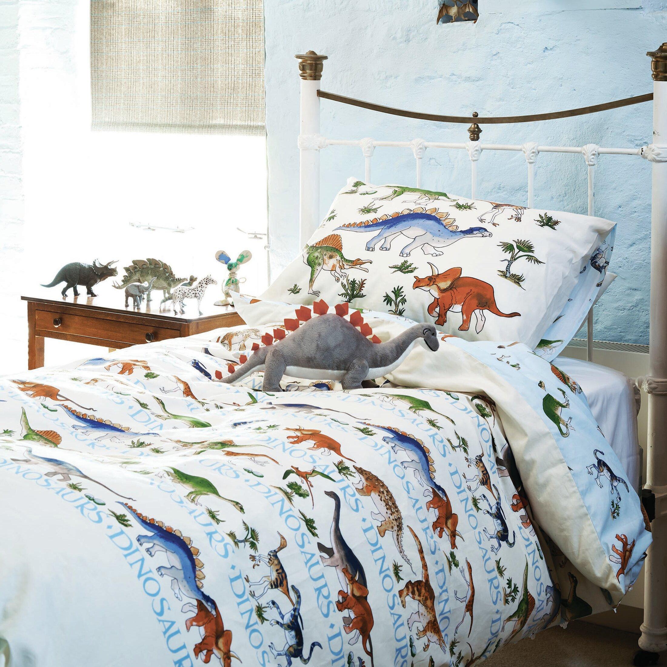 emma bridgewater dinosaurs 100 cotton duvet set reviews. Black Bedroom Furniture Sets. Home Design Ideas