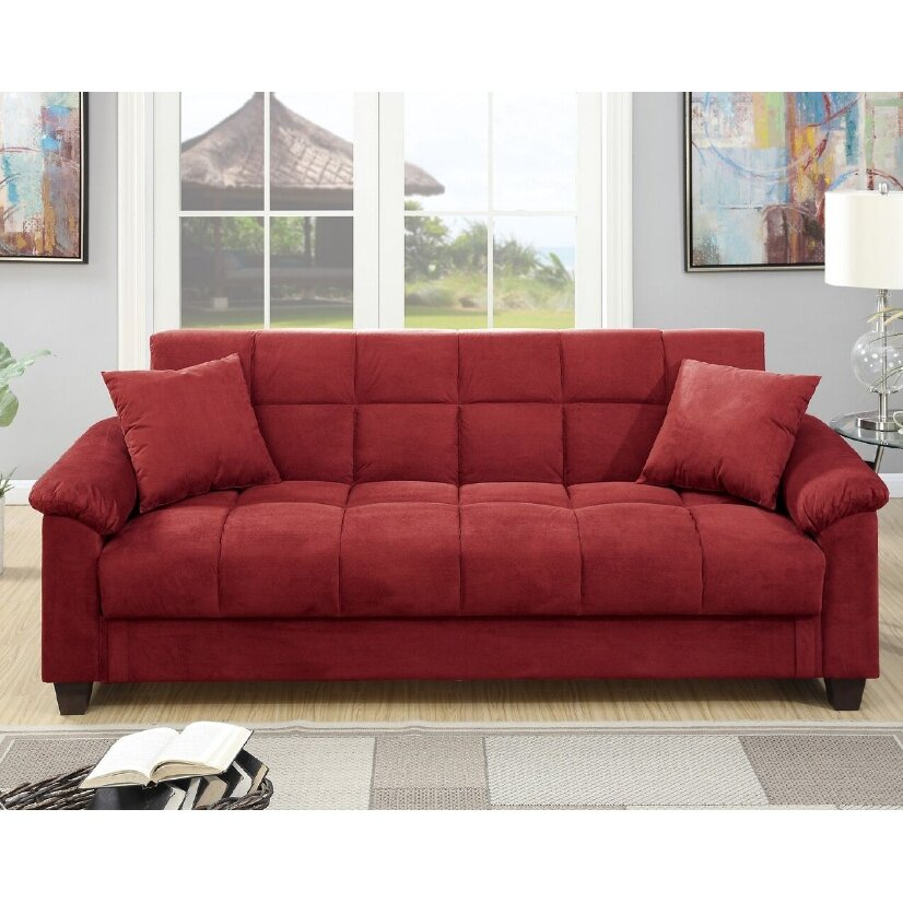 A Amp J Homes Studio Lakeview Adjustable Storage Sofa