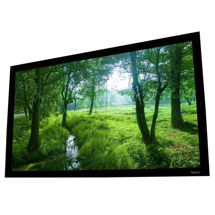elunevision perlux silver fixed frame projection screen