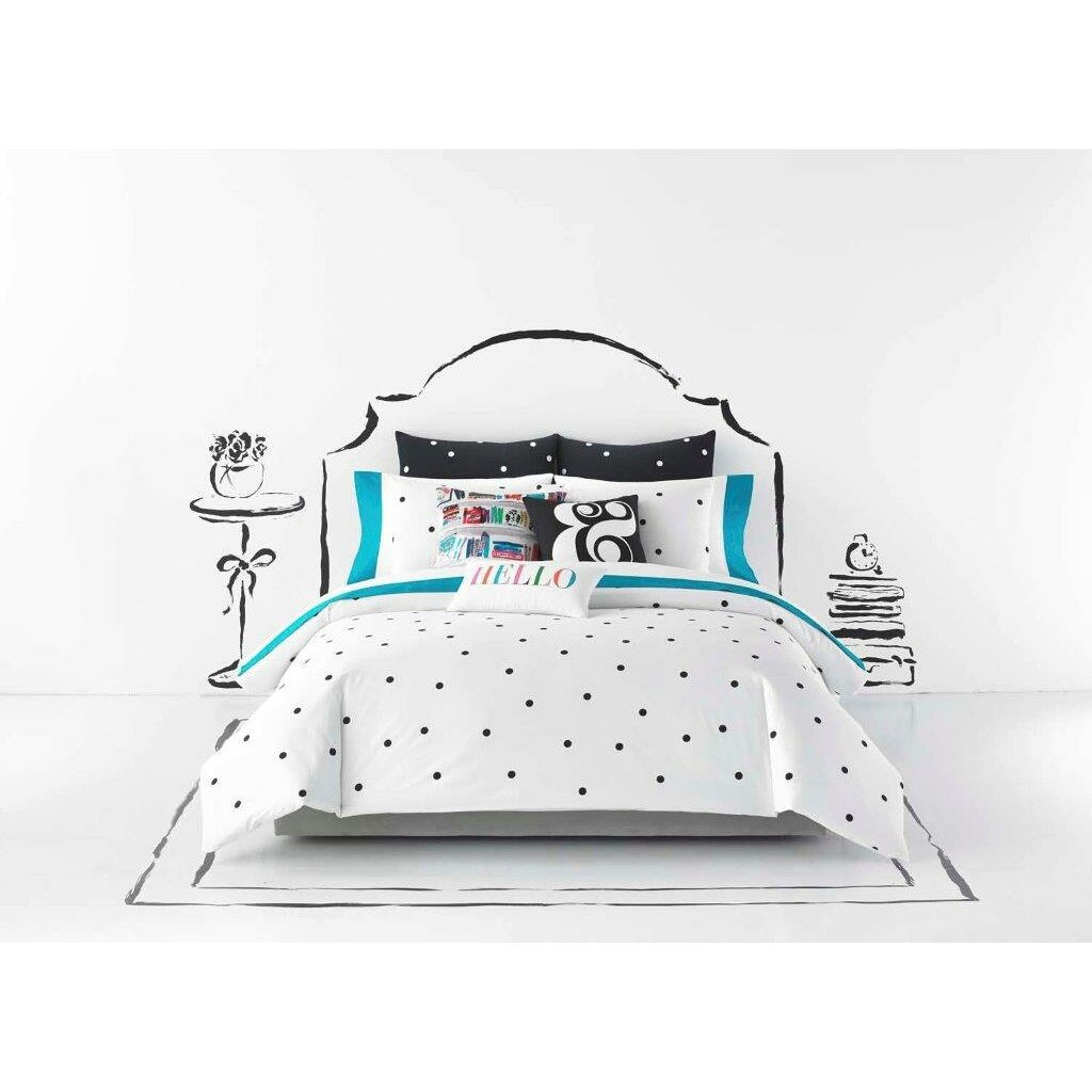 Polka dot bed spreads - Deco Dot Duvet Cover