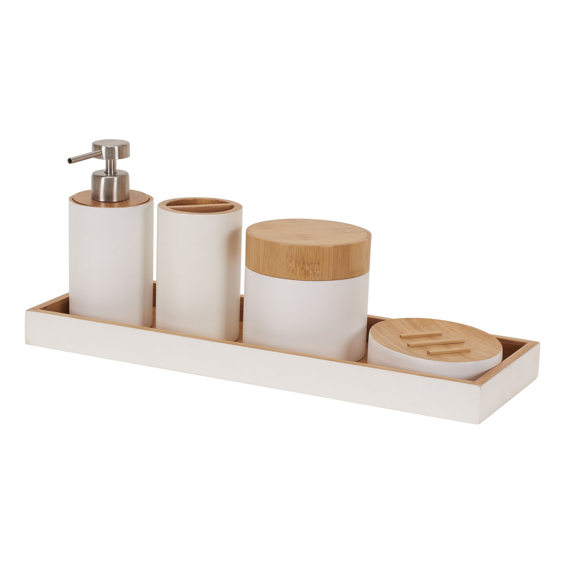 the twillery co. shaw piece bathroom accessory set  reviews, Home decor