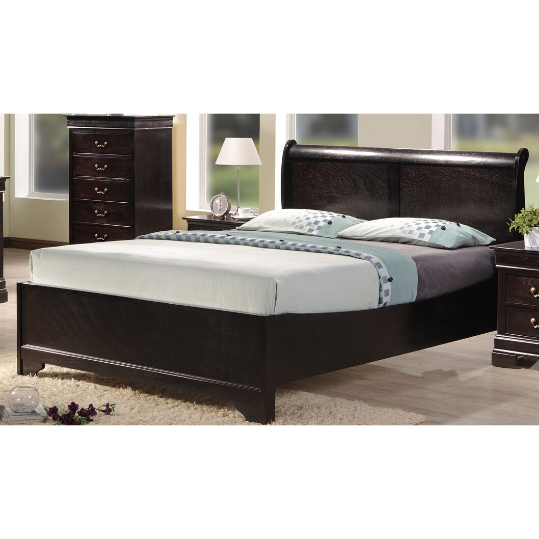 Best Quality Furniture Panel Bed & Reviews | Wayfair