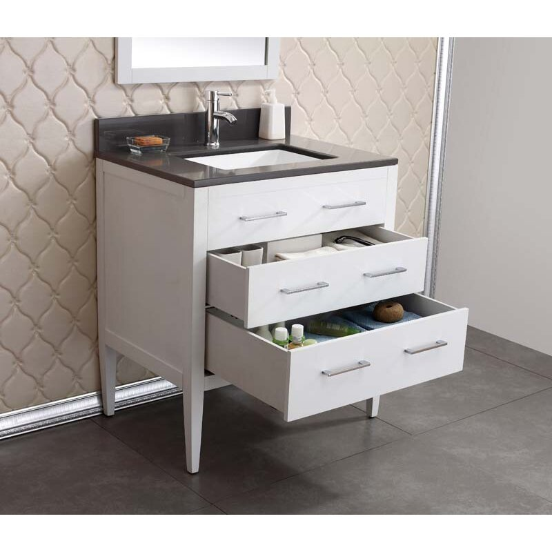 Awesome Bath Gt Bathroom Vanities Gt Sydney 18quot Vanity Set  Espresso