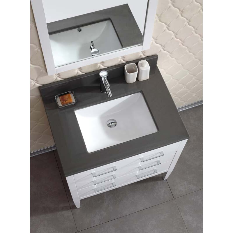 Model BLOSSOM 48quot SYDNEY DOUBLE SINK BATHROOM VANITY IN GLOSSY WHITE  EBay