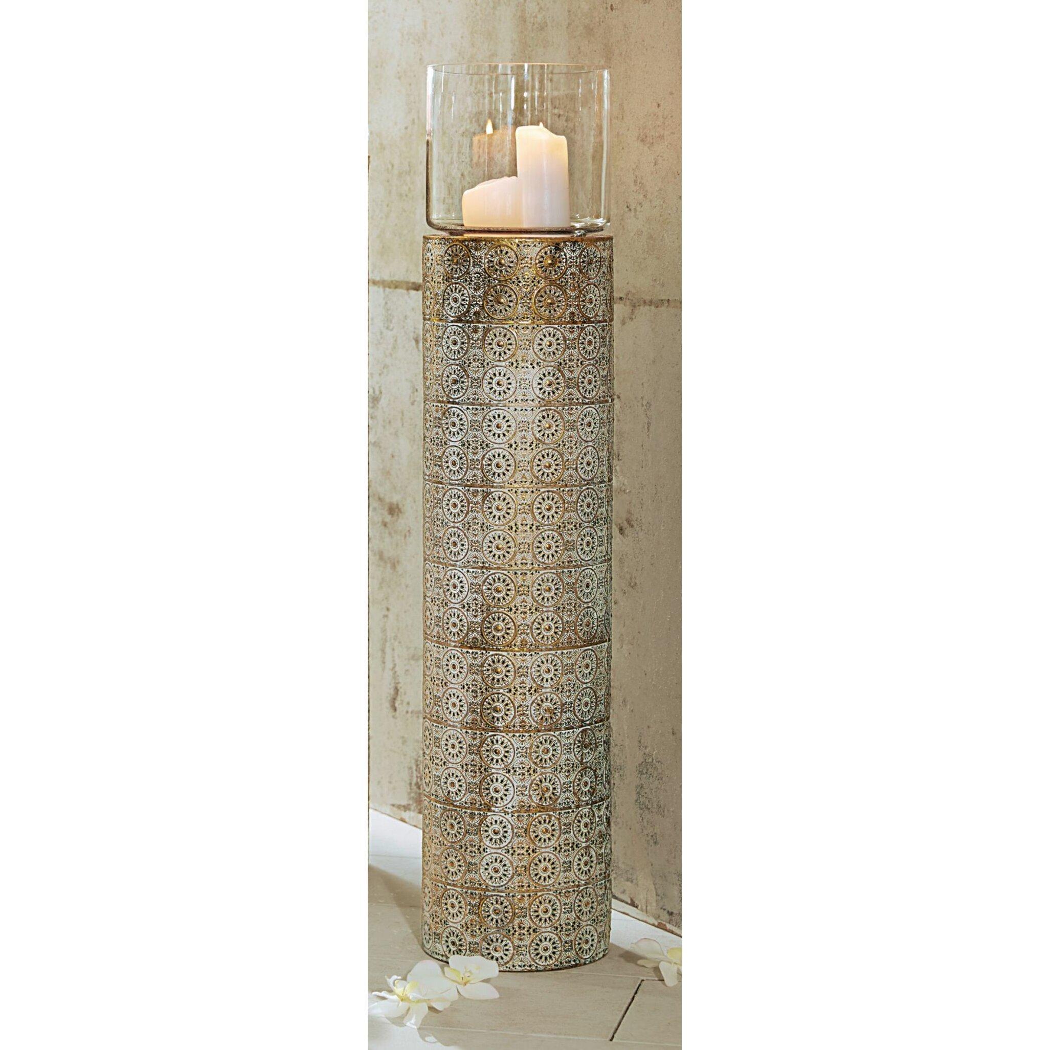 pureday boden windlicht oriental aus metall glas. Black Bedroom Furniture Sets. Home Design Ideas