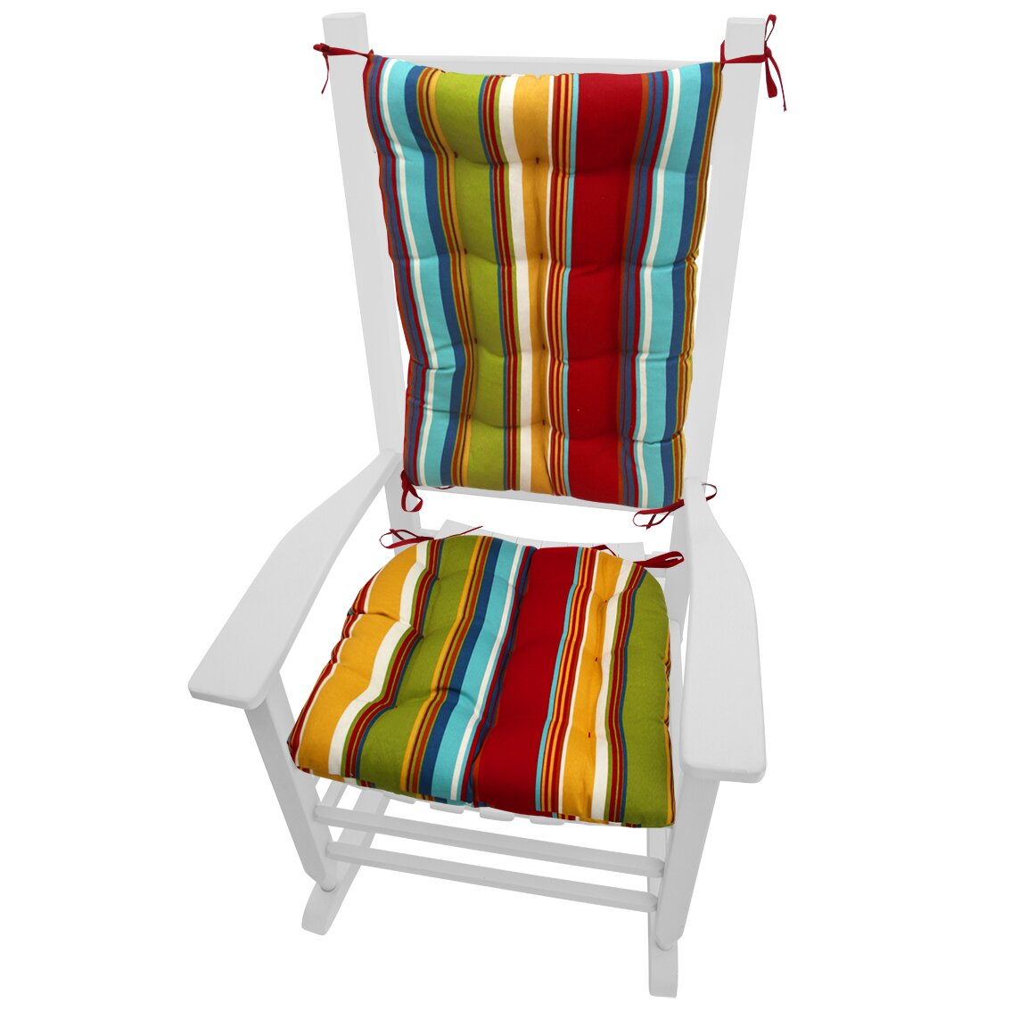 Barnett Home Decor Coastal Outdoor Rocking Chair Cushion  Wayfair