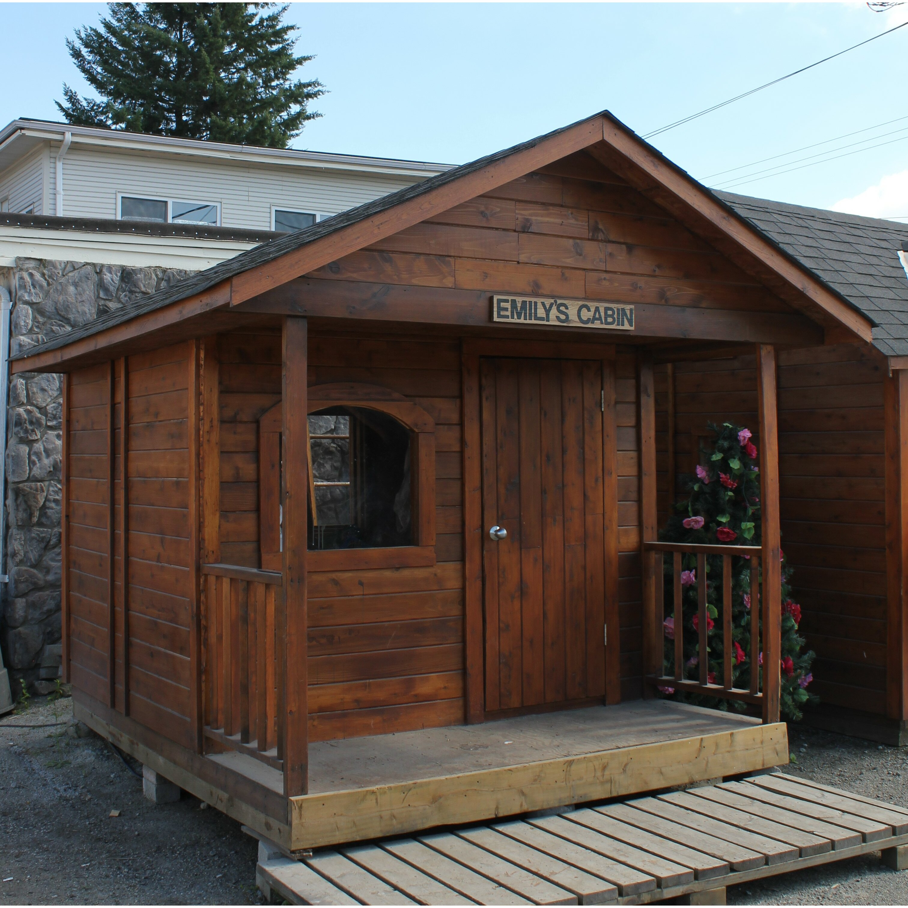 WestviewManufacturing Emily's Cabin 10 Ft. W X 12 Ft. D