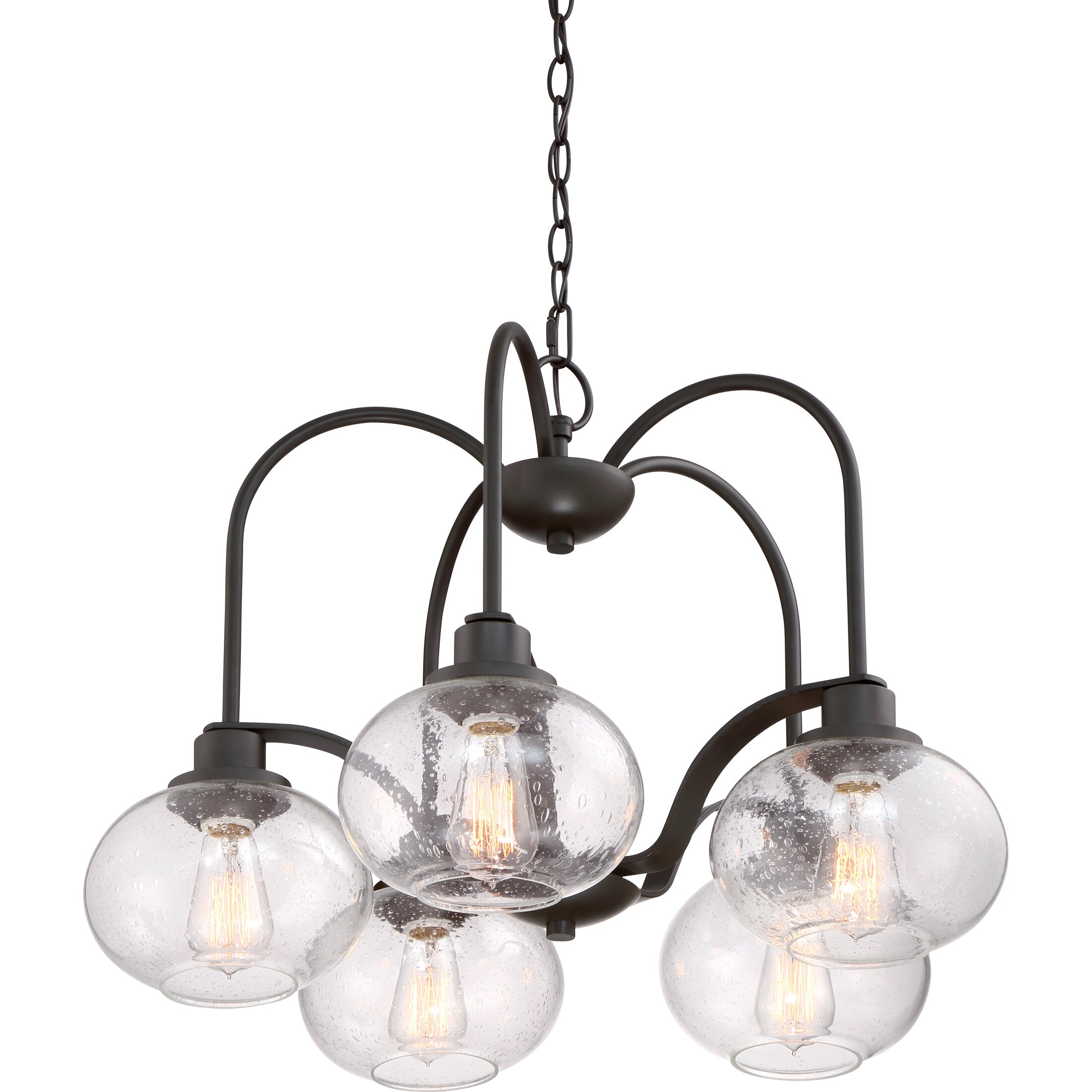 Quoizel Trilogy 5Light Shaded Chandelier Reviews – Quoizel Chandelier