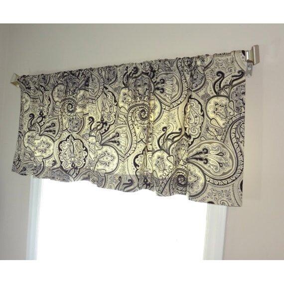 HomeLiving Waverly Paddock Shawl Curtain Valance & Reviews | Wayfair