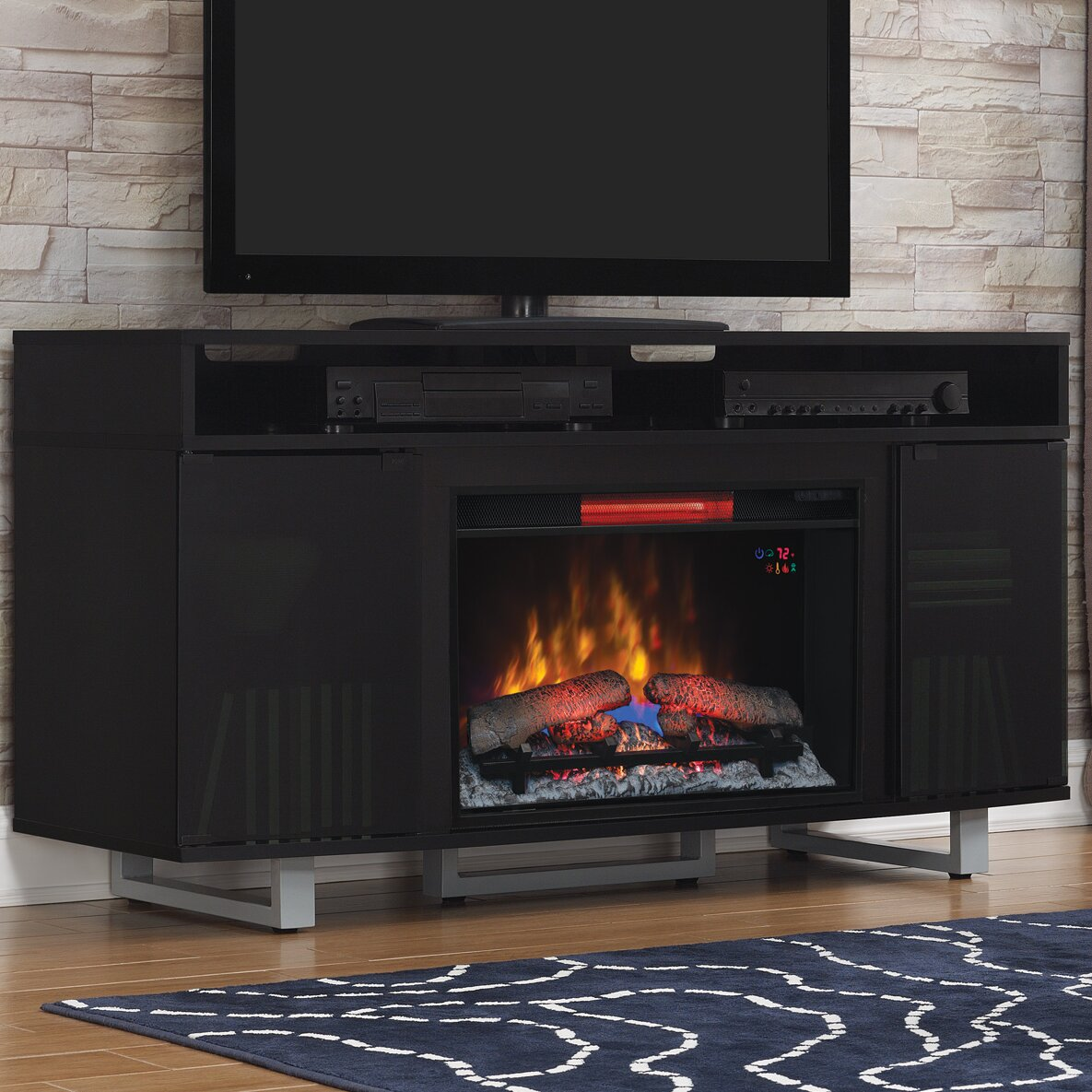 Classic Flame Enterprise Tv Cabinets For Tvs Up To 65 With Electric Fireplace Reviews