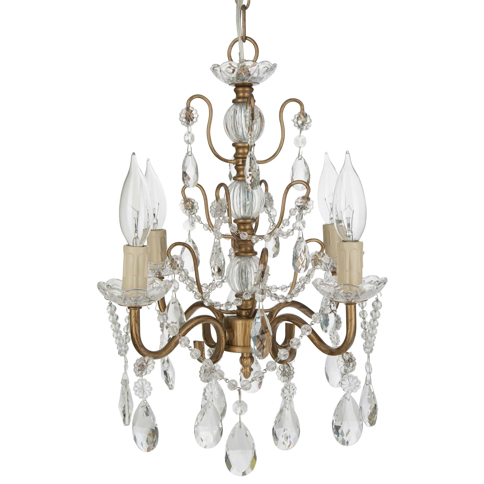 Mini or Small Chandeliers Youll Love – Mini Crystal Chandelier Under 100