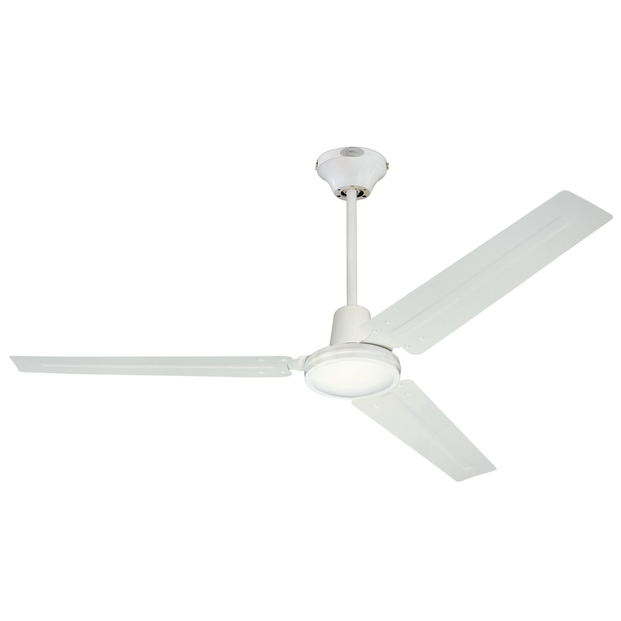 westinghouse lighting 56 3 blade industrial ceiling fan reviews wayfair. Black Bedroom Furniture Sets. Home Design Ideas
