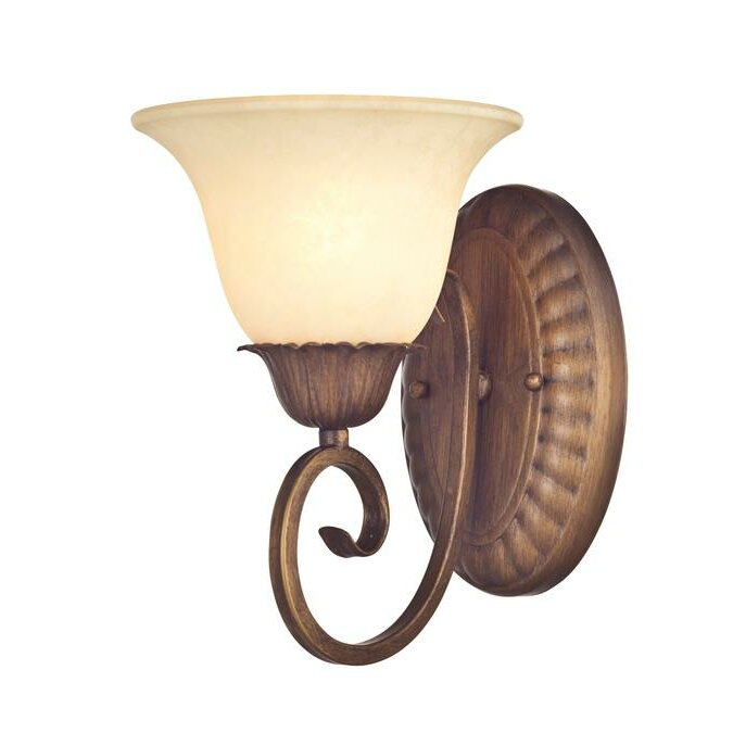 Westinghouse Wall Sconces With Switch : Westinghouse Lighting Regal Springs 1-Light Wall Sconce Wayfair