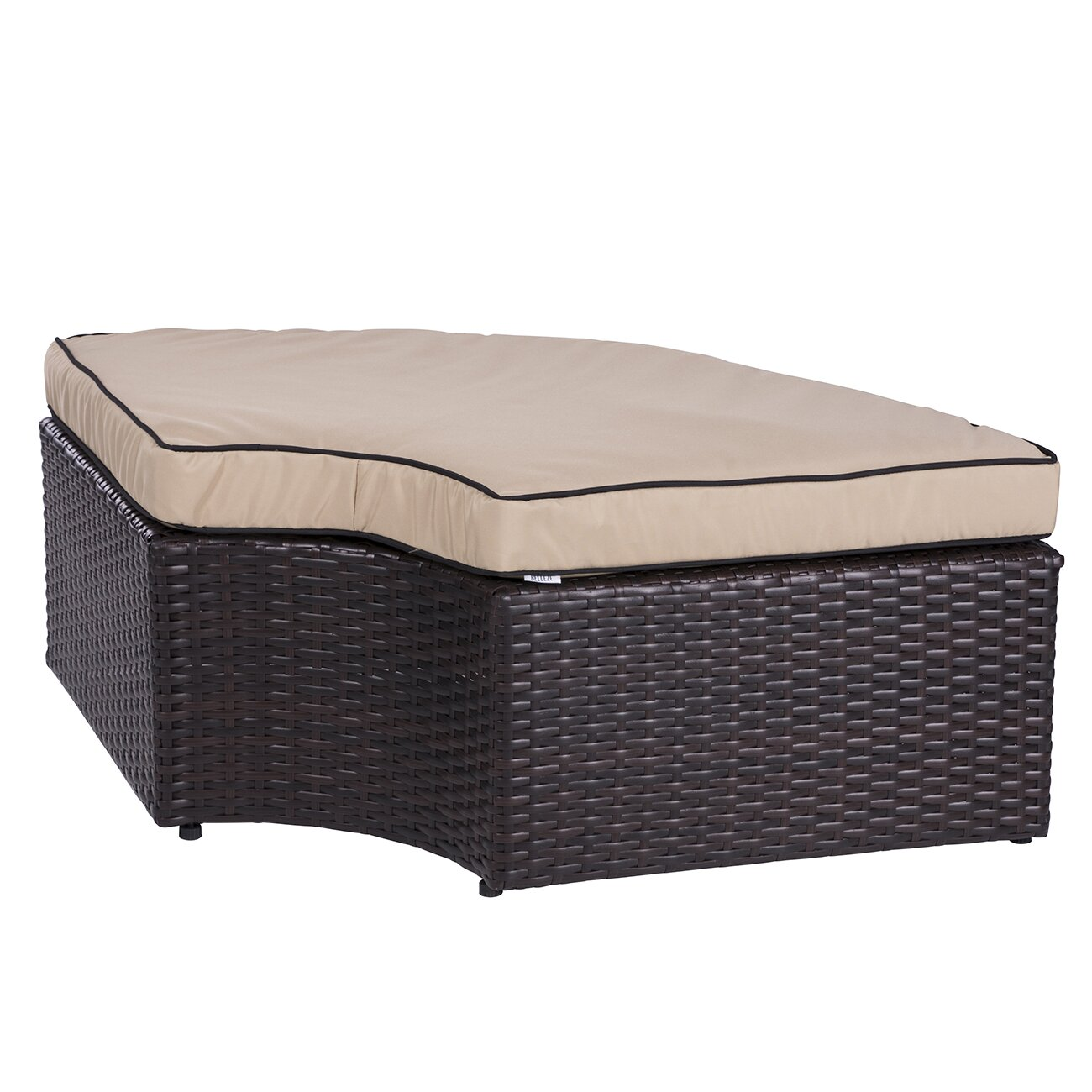 Belleze 5 Piece Outdoor Daybed Set with Cushions & Reviews