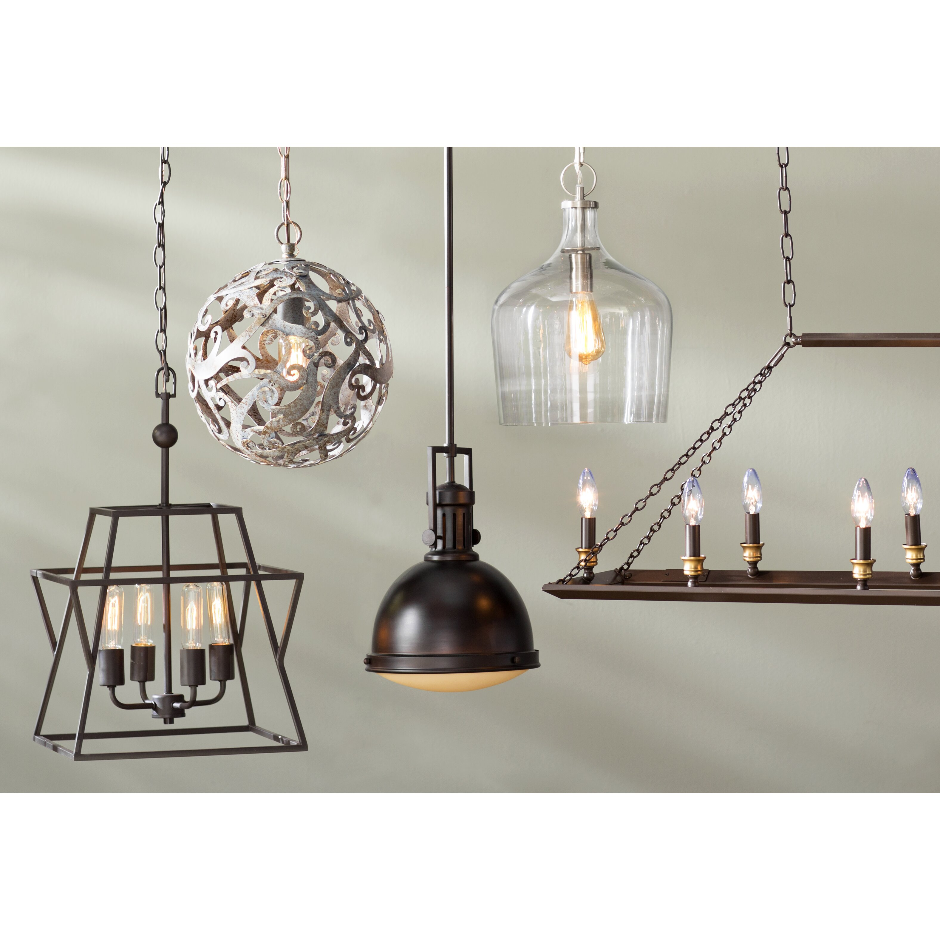 Kitchen Island Lantern Pendants