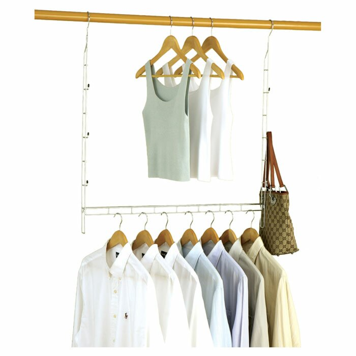 Organize It All Closet Doubler Hanging Organizer