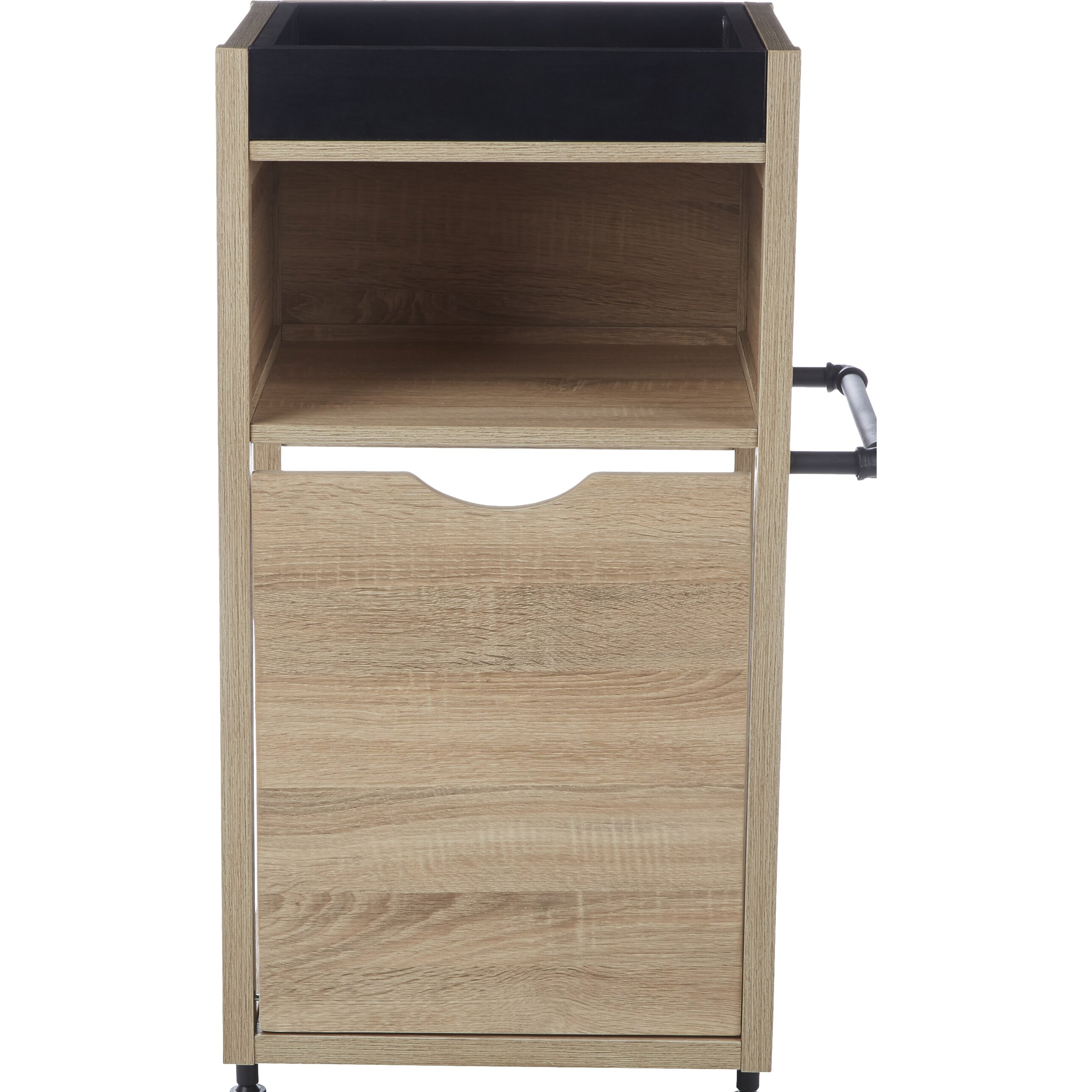 """Kitchen Cabinets Bronx Ny: Ivy Bronx Collinsworth Pull Out Hamper 17.63"""" W X 34.38"""" H"""