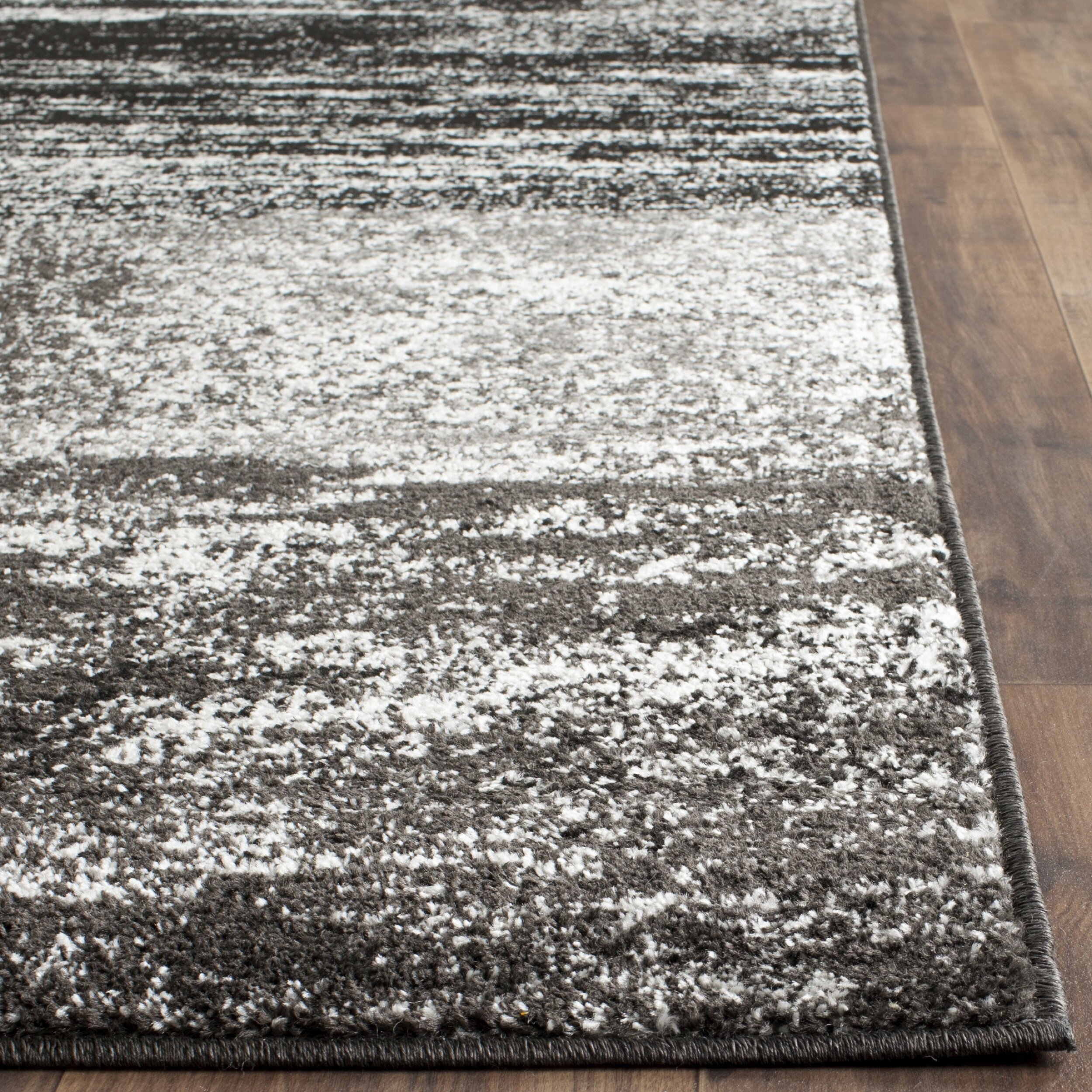 safavieh adirondack black silver white area rug reviews. Black Bedroom Furniture Sets. Home Design Ideas
