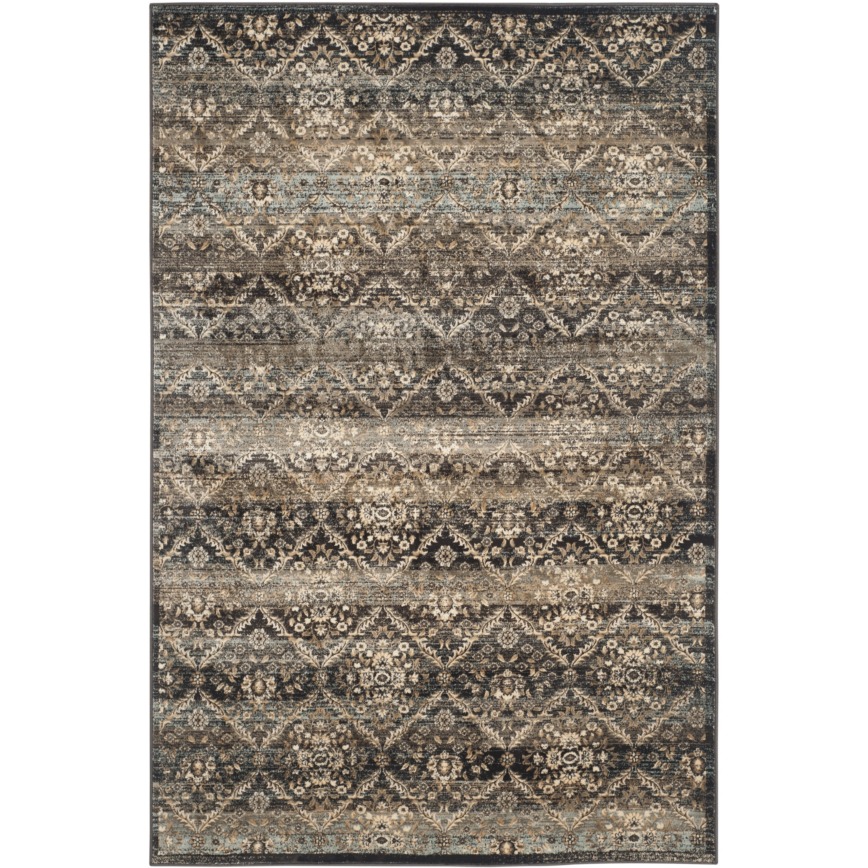 Safavieh Vintage Black/Light Blue Area Rug & Reviews