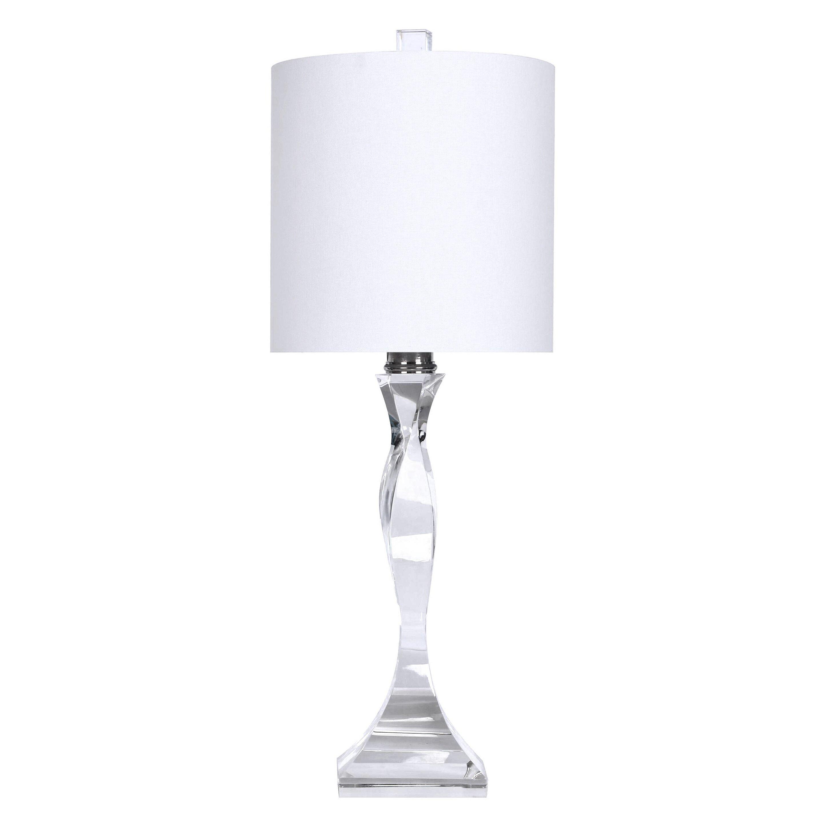 Grandview Gallery Genuine Crystal 24 Quot Table Lamp Amp Reviews
