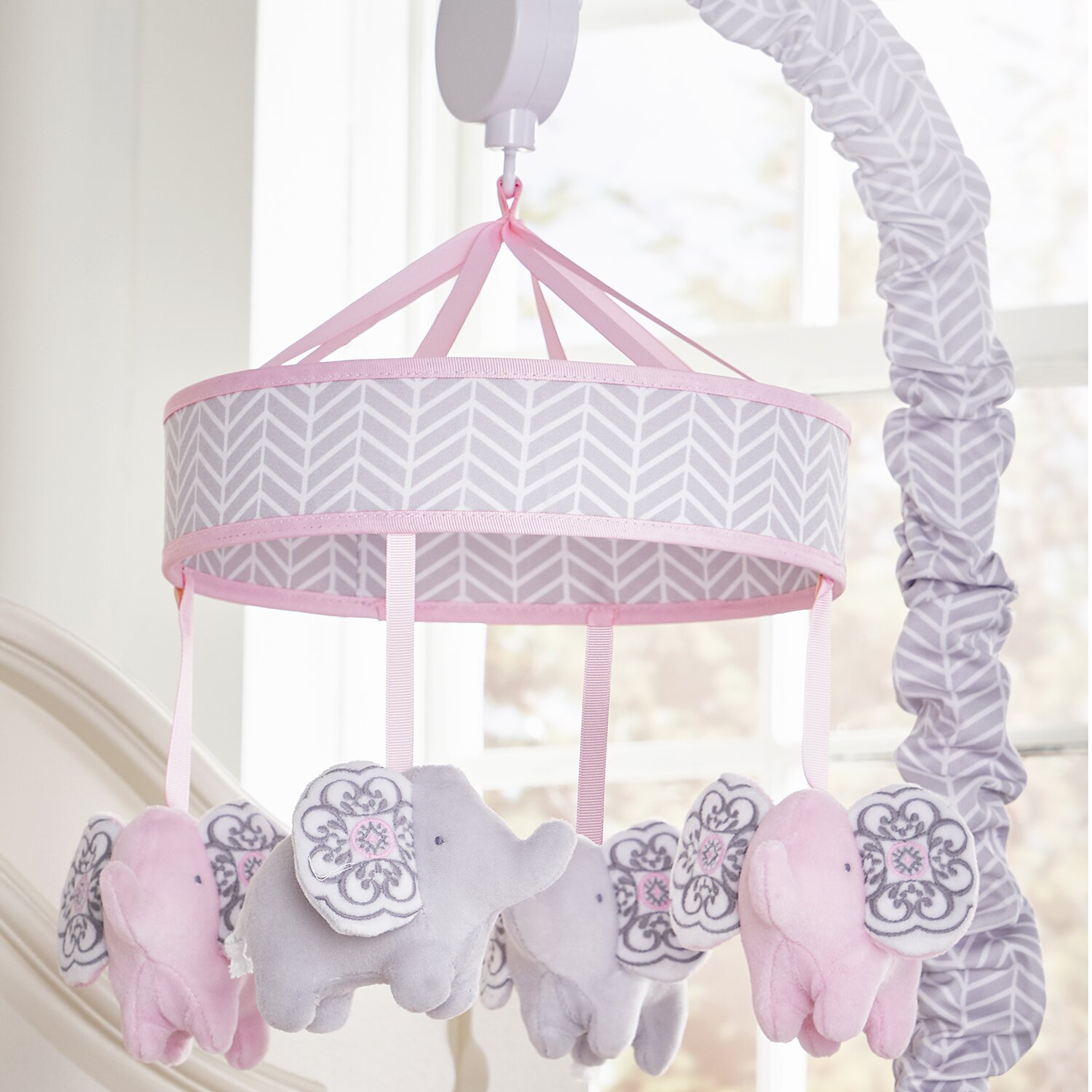 Baby cribs jacksonville fl - Wendy Bellissimo Elodie Motorized Crib Mobile
