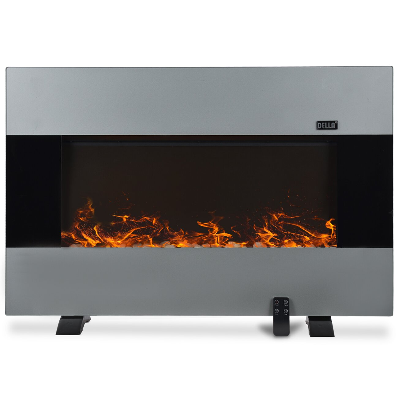 Natural gas wall mount fireplaces - 1500w Wall Mount Electric Fireplace