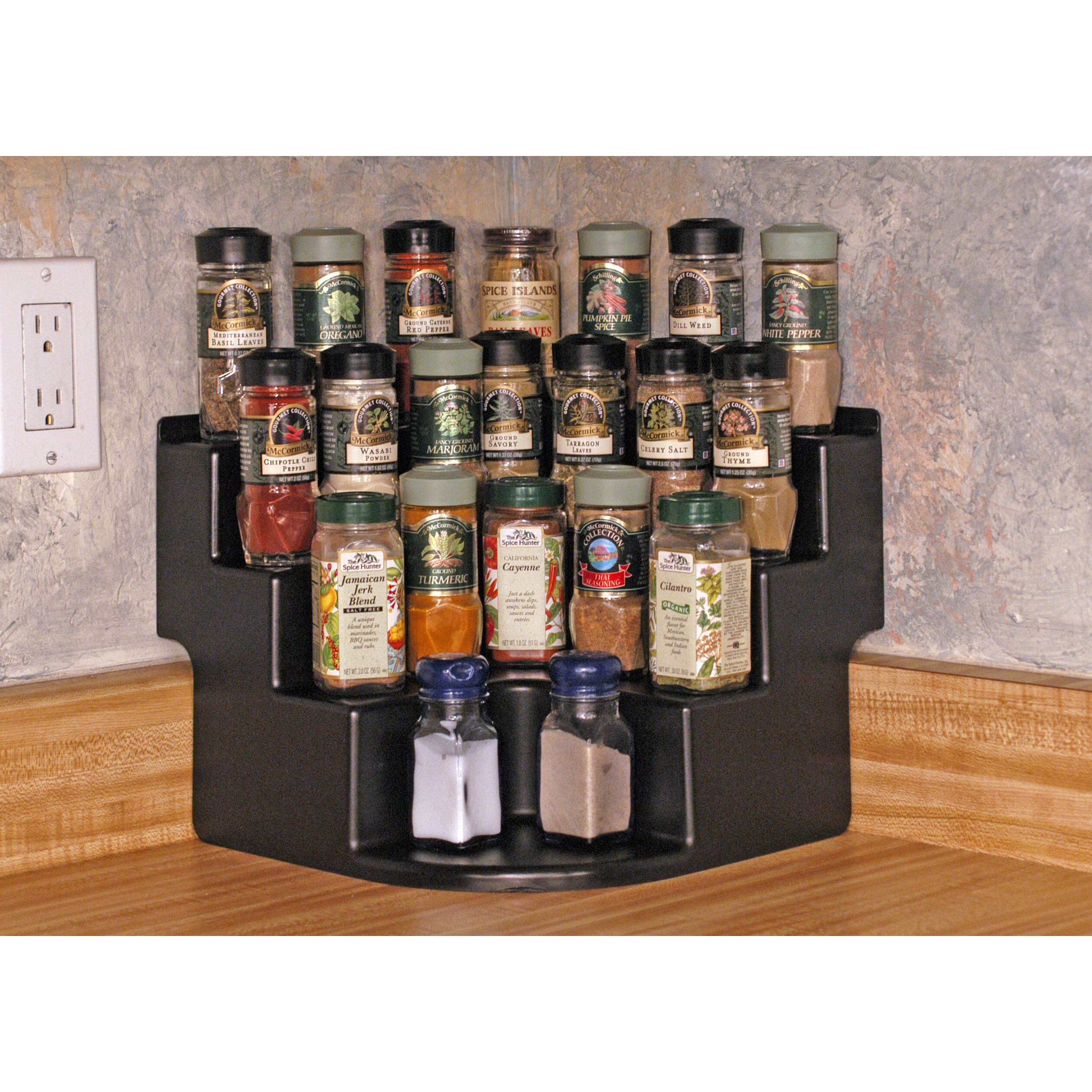 FunDisplay Corner Free-Standing Spice Rack & Reviews