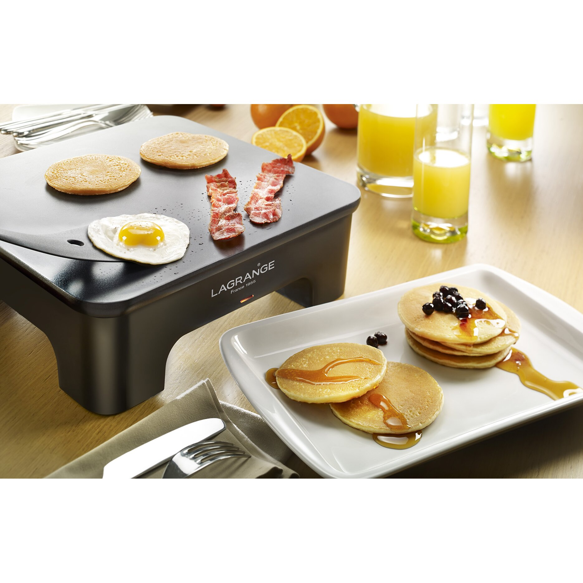 How To Grill Perfect Pork Chops 4in1grill How To Clean A Griddle Lagrange  6 Piece Creative Crepes Electric Griddle Set Wayfair
