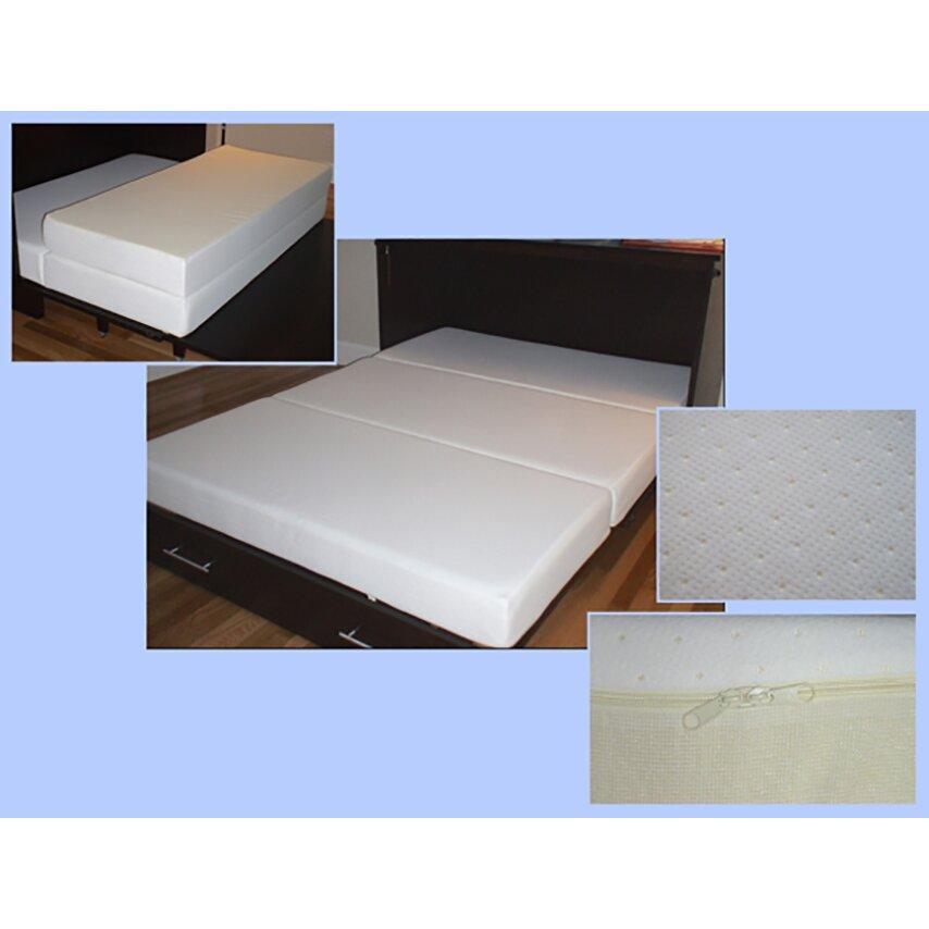 Pyper Marketing LLC Emma Queen Murphy Bed with Mattress