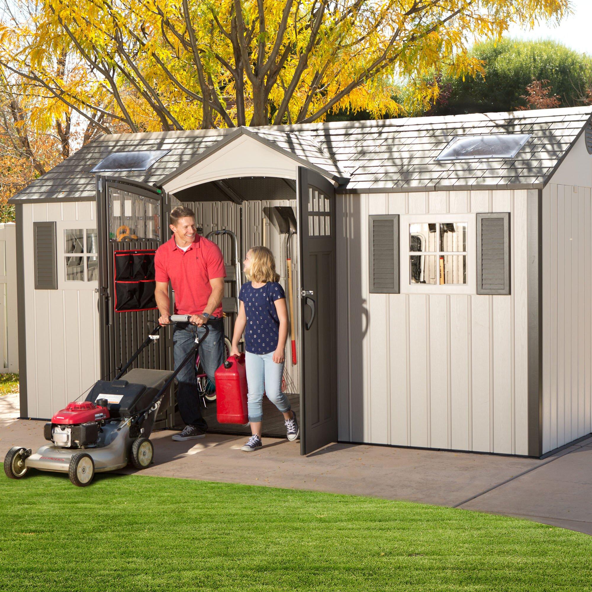 Outdoor Storage  Storage Sheds Lifetime Part #: 60138 SKU: LXT1332
