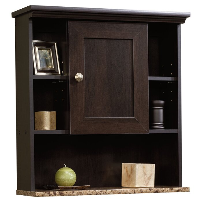 "Sauder Peppercorn 23.25"" W X 24.63"" H Wall Mounted Cabinet & Reviews"