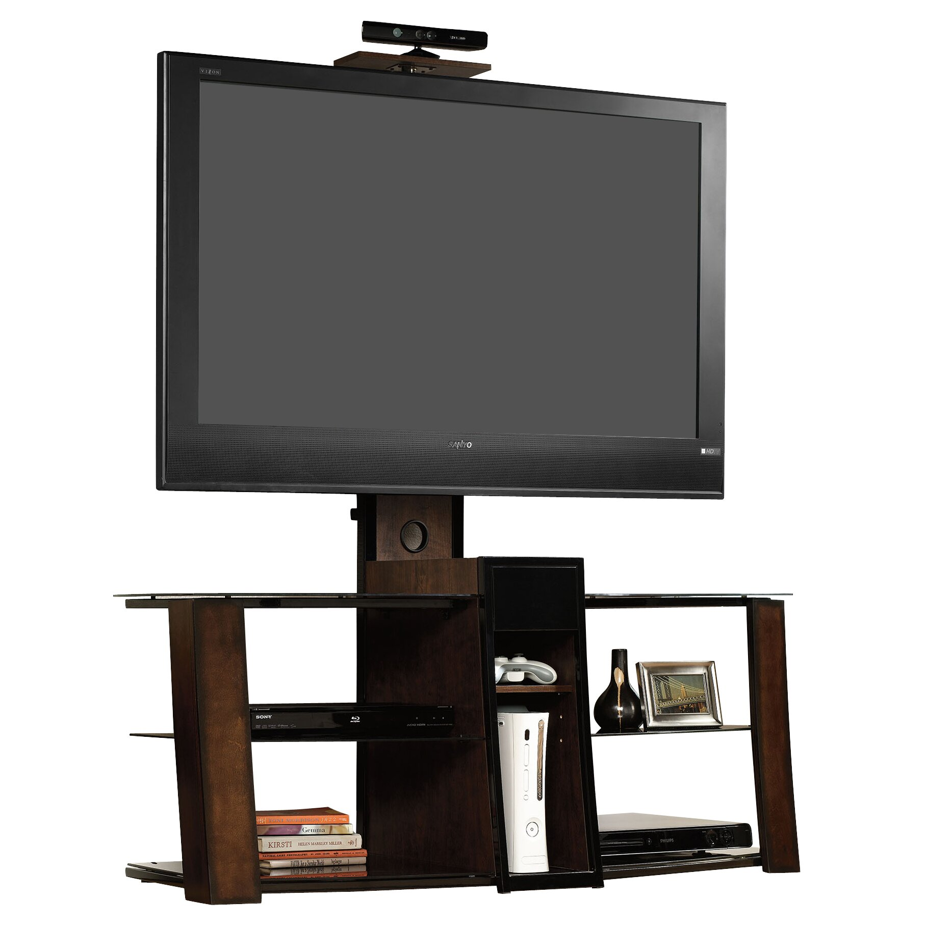 Sauder Tv Cabinet Sauder Console By Studio Edge Tv Stand Reviews Wayfair