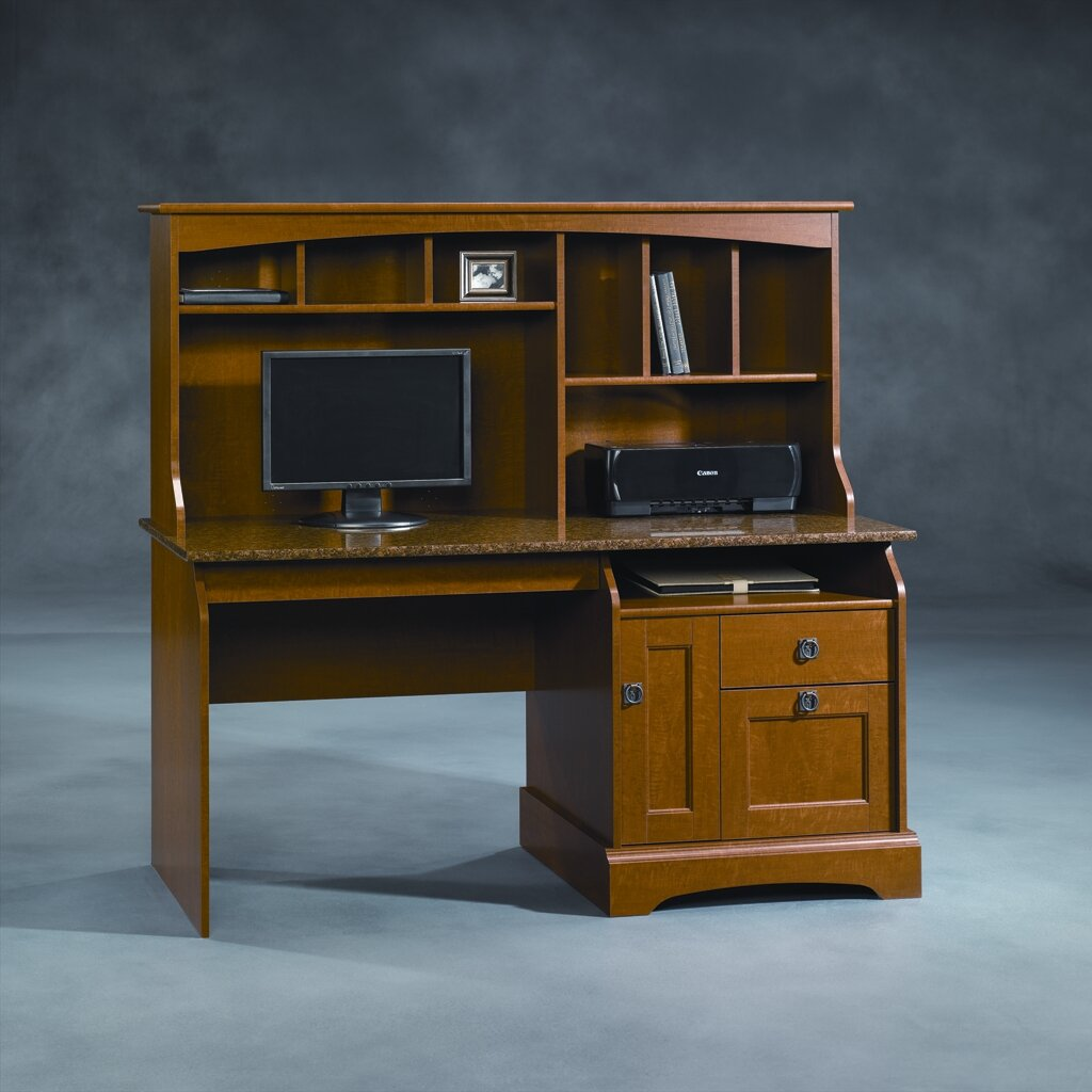 Sauder Graham Hill Computer Desk With Hutch Amp Reviews