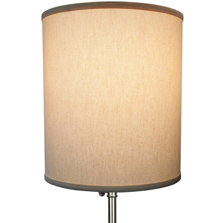 Drum Lamp Shades : Fenchel shades quot linen drum lamp shade wayfair