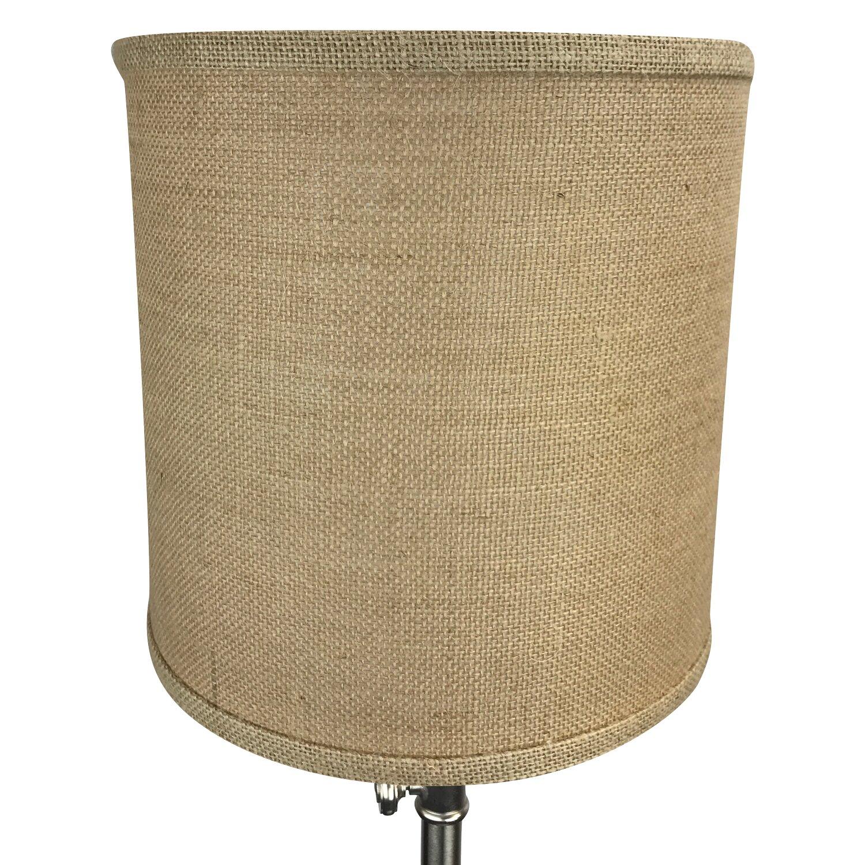 fenchel shades 10 linen drum lamp shade reviews. Black Bedroom Furniture Sets. Home Design Ideas