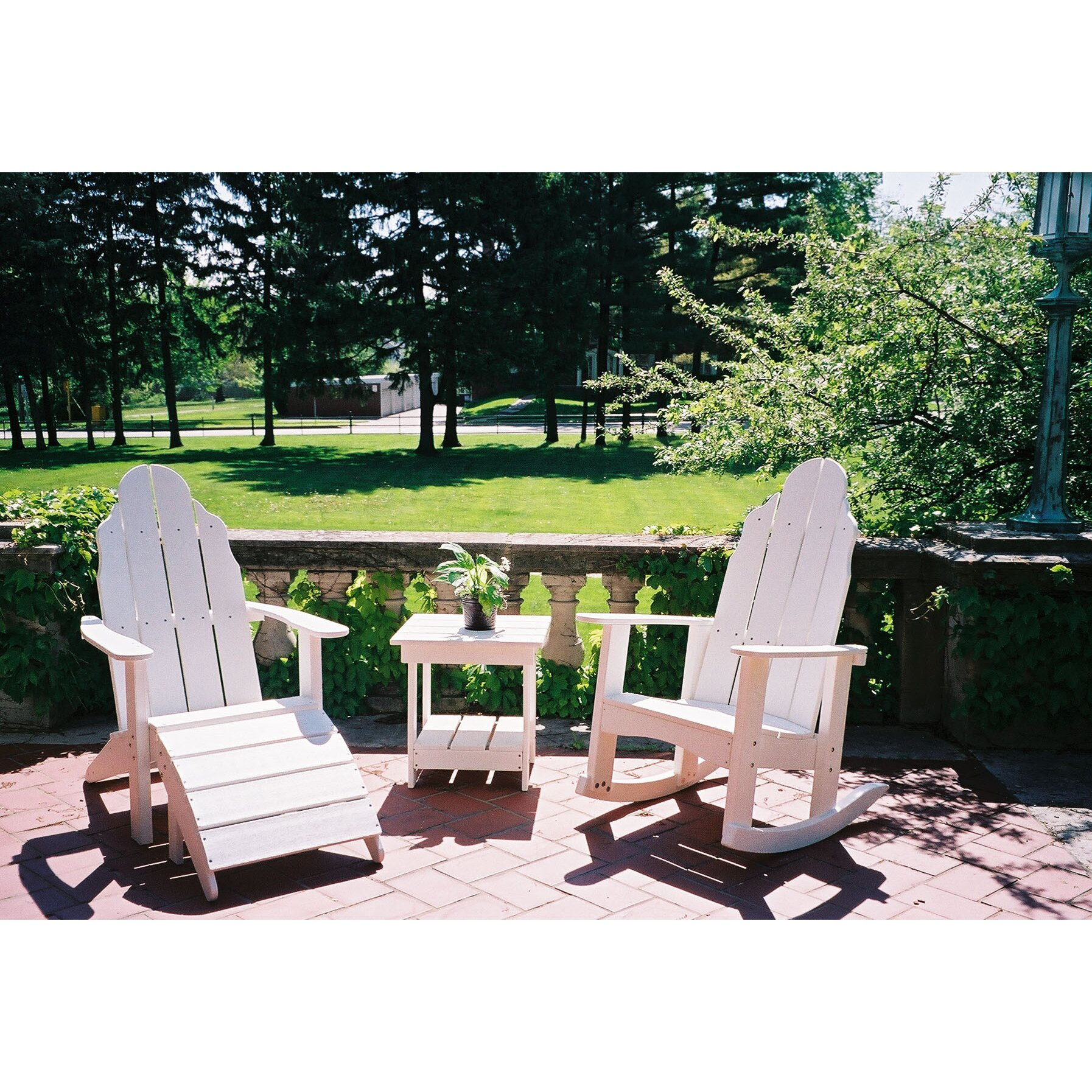 Tailwind Furniture Traditional Rocker Adirondack Chair